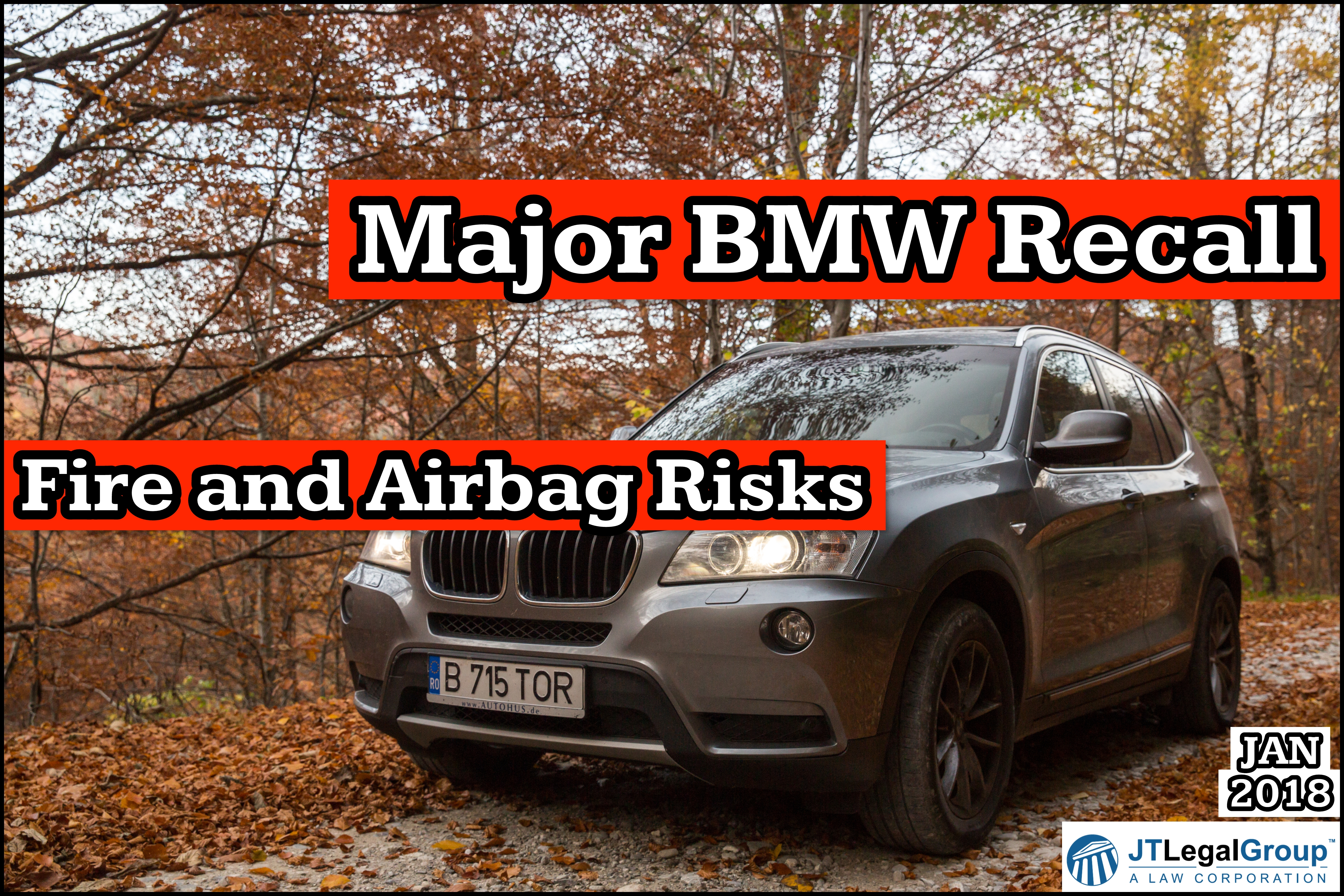 Major BMW Recall Fire and Airbag Risks