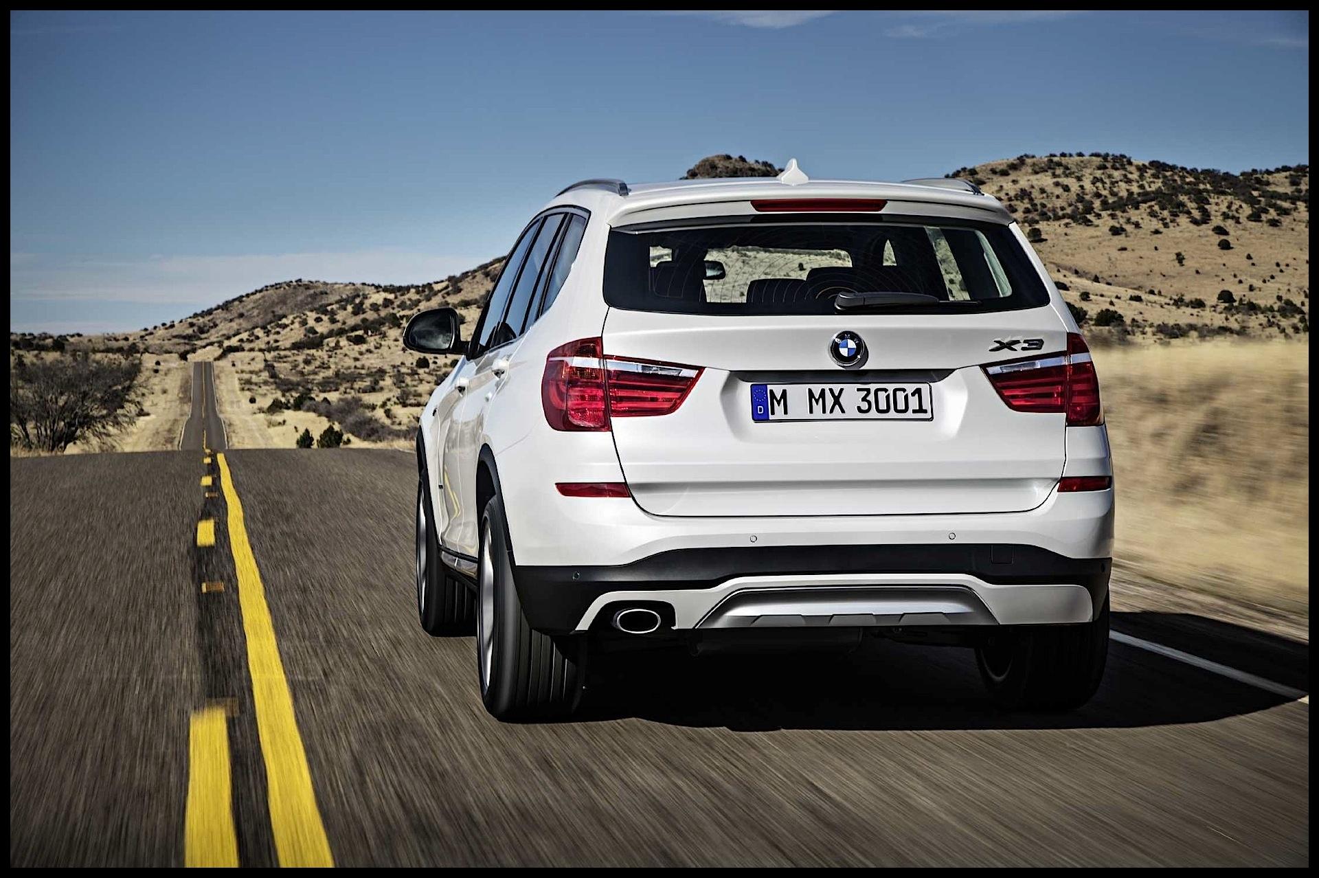 BMW X3 F25 2014 2017