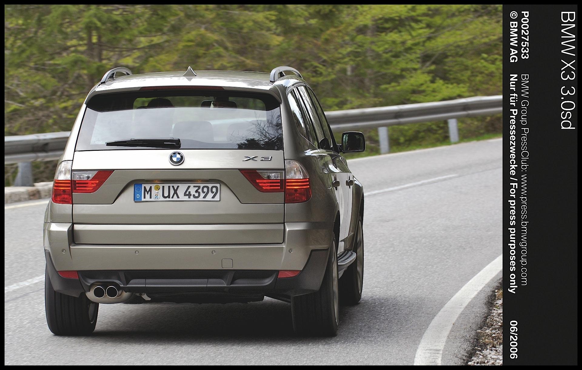 BMW X3 E83 2007 2010