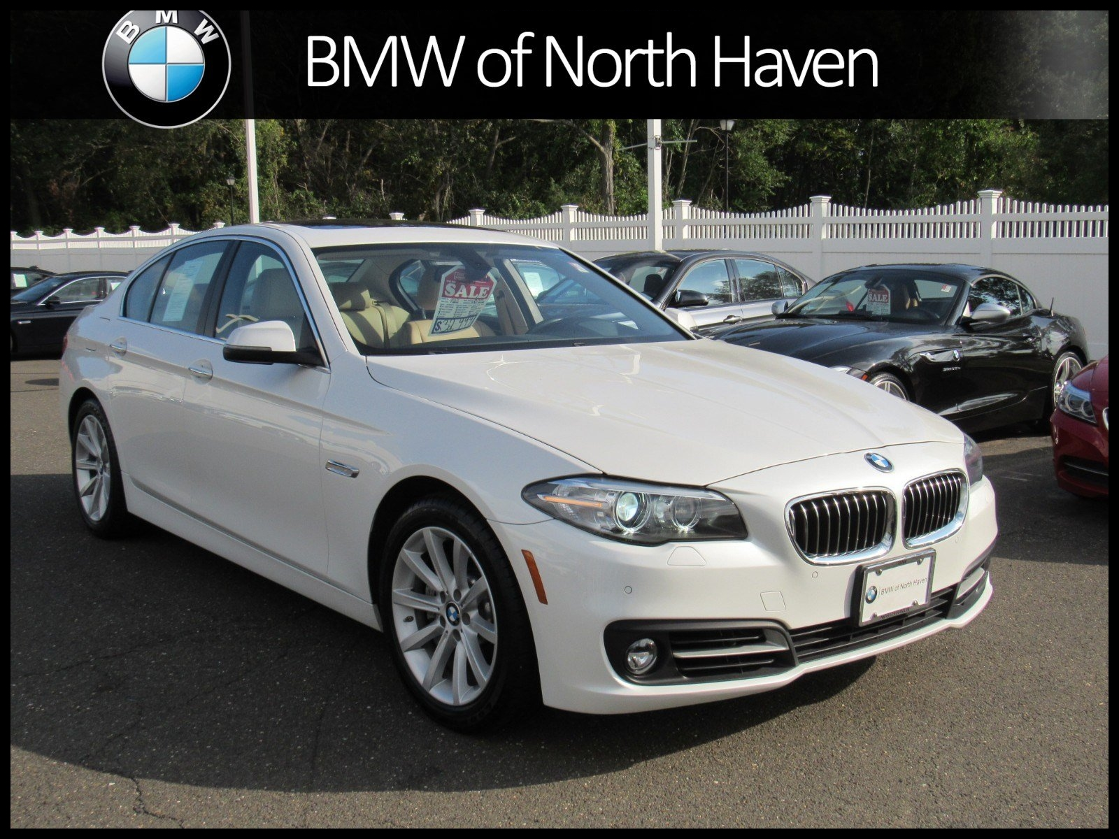 Certified Pre Owned 2015 BMW 5 Series 535i xDrive