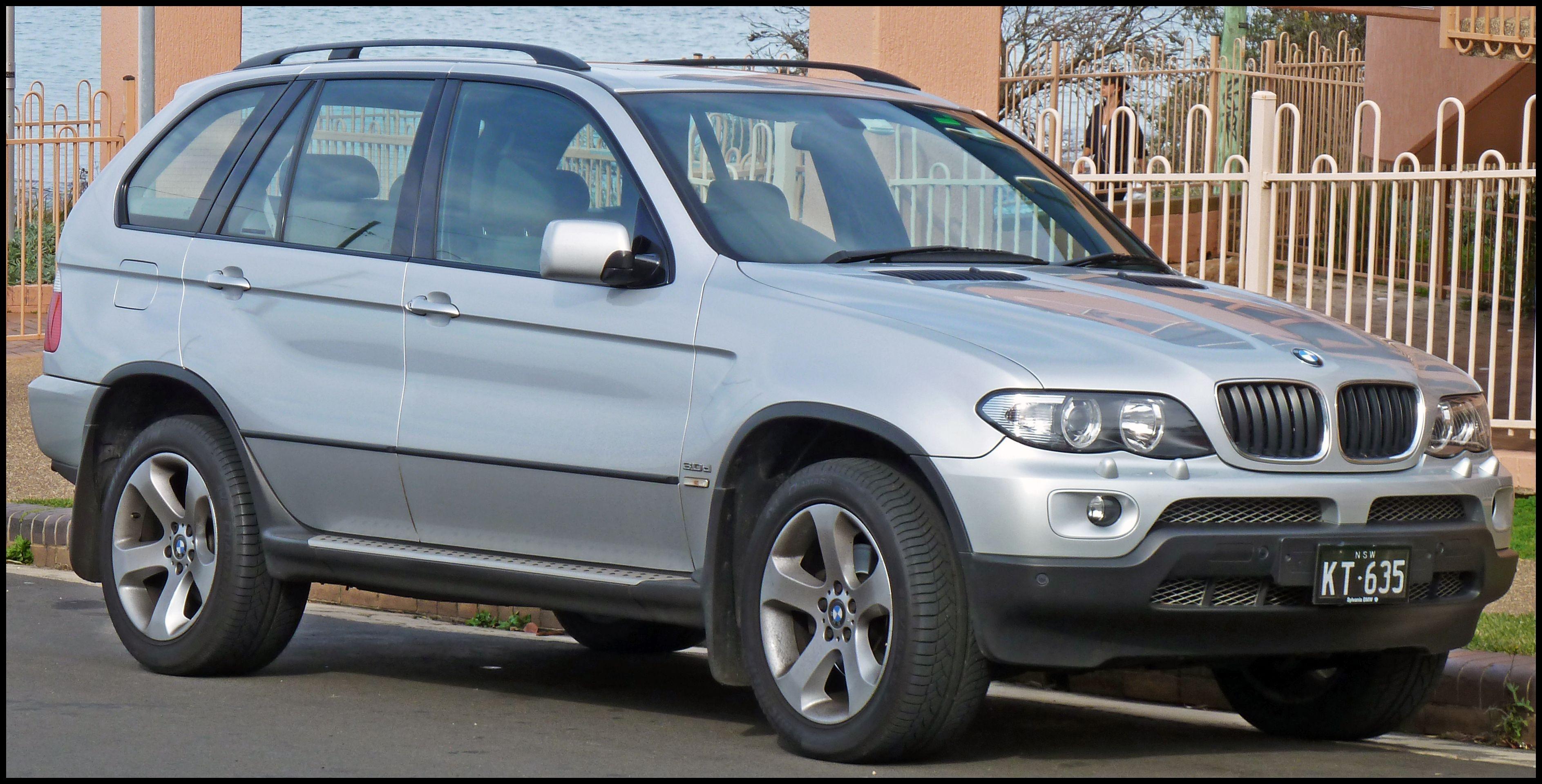2003 2006 BMW X5 E53 3 0d 01