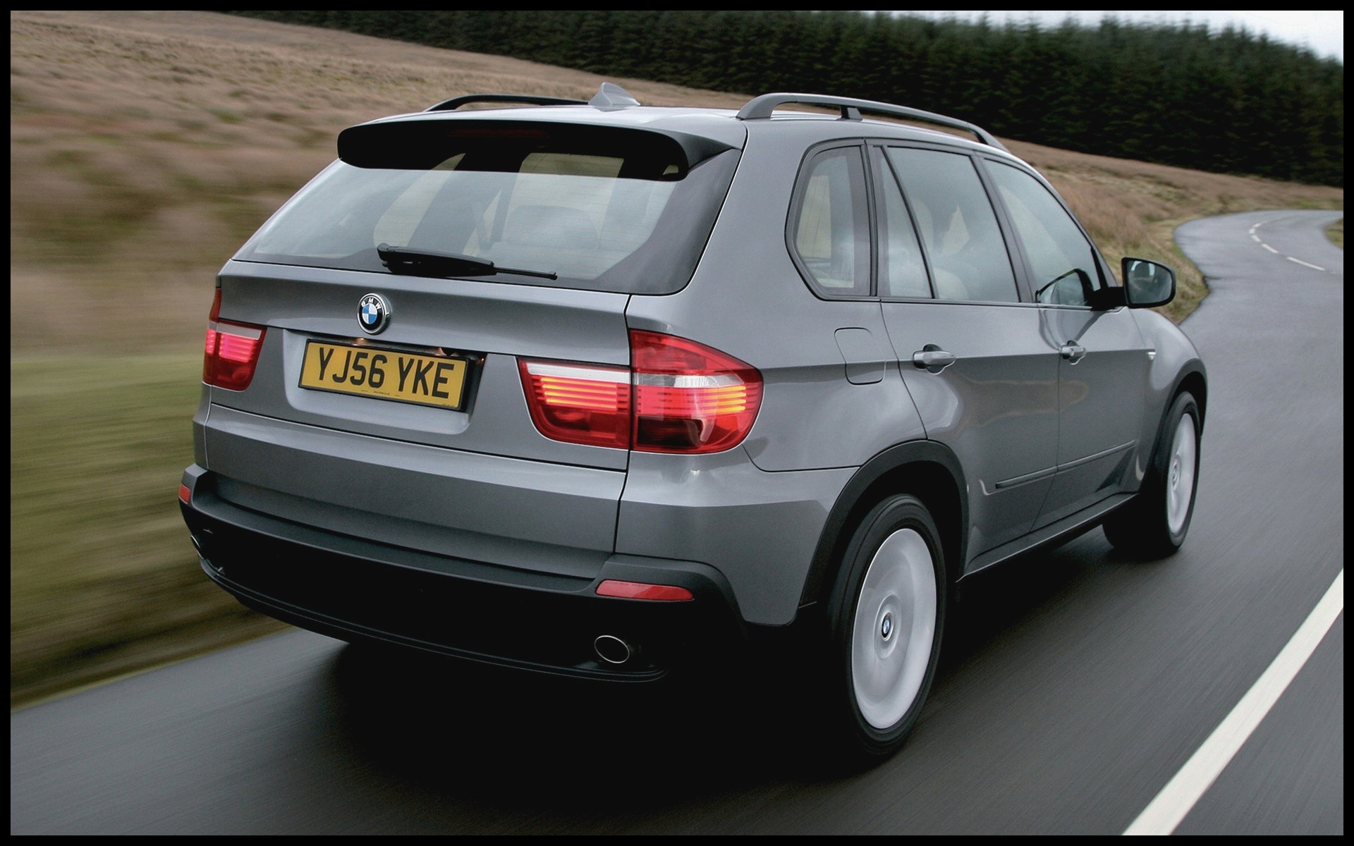 Car Image In Hd New Stylish Bmw X5 3 0d 2007 Uk Wallpapers And Hd New Car Wallpaper Wide