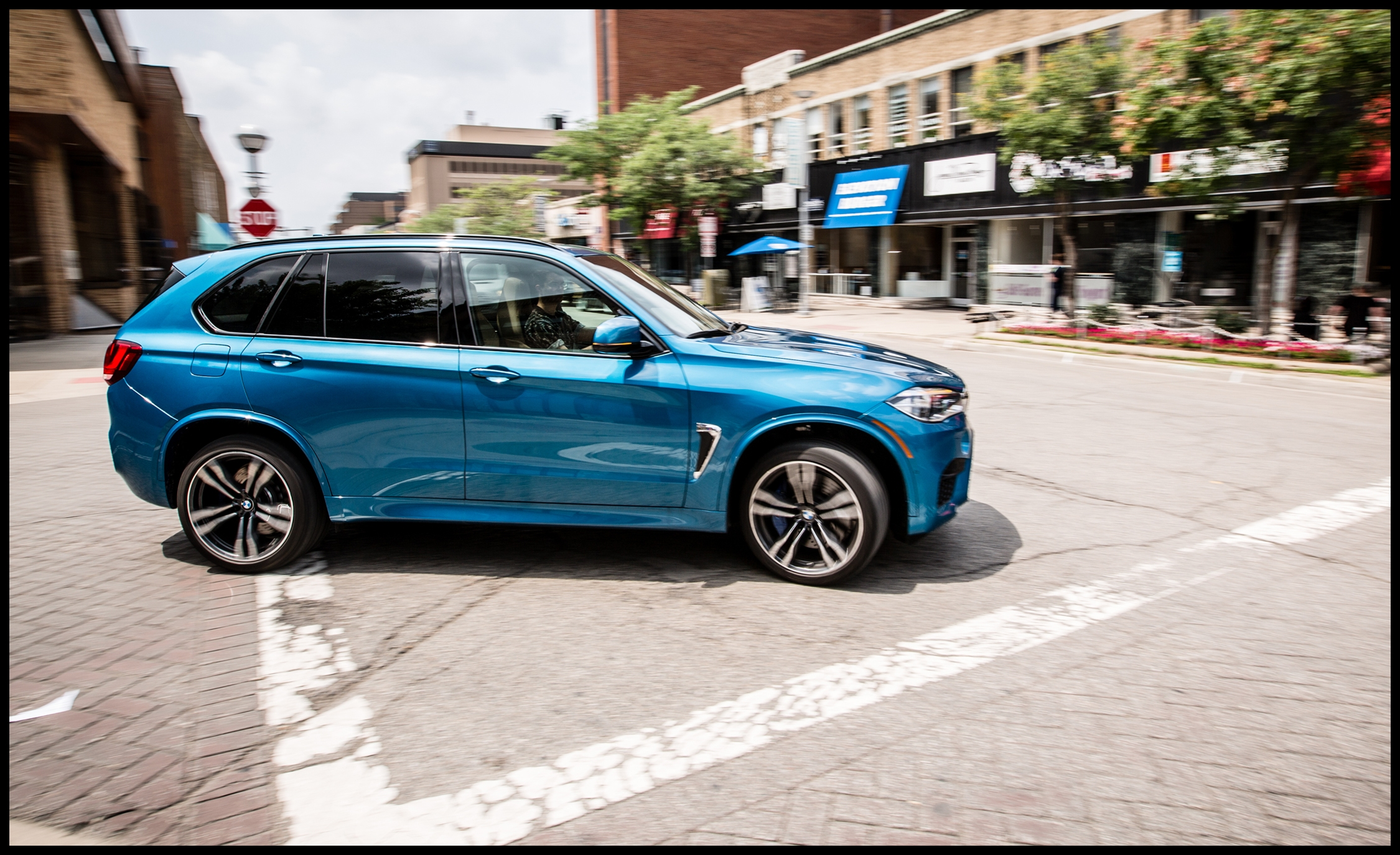 2017 bmw x5 m instrumented test review car and driver photo s original