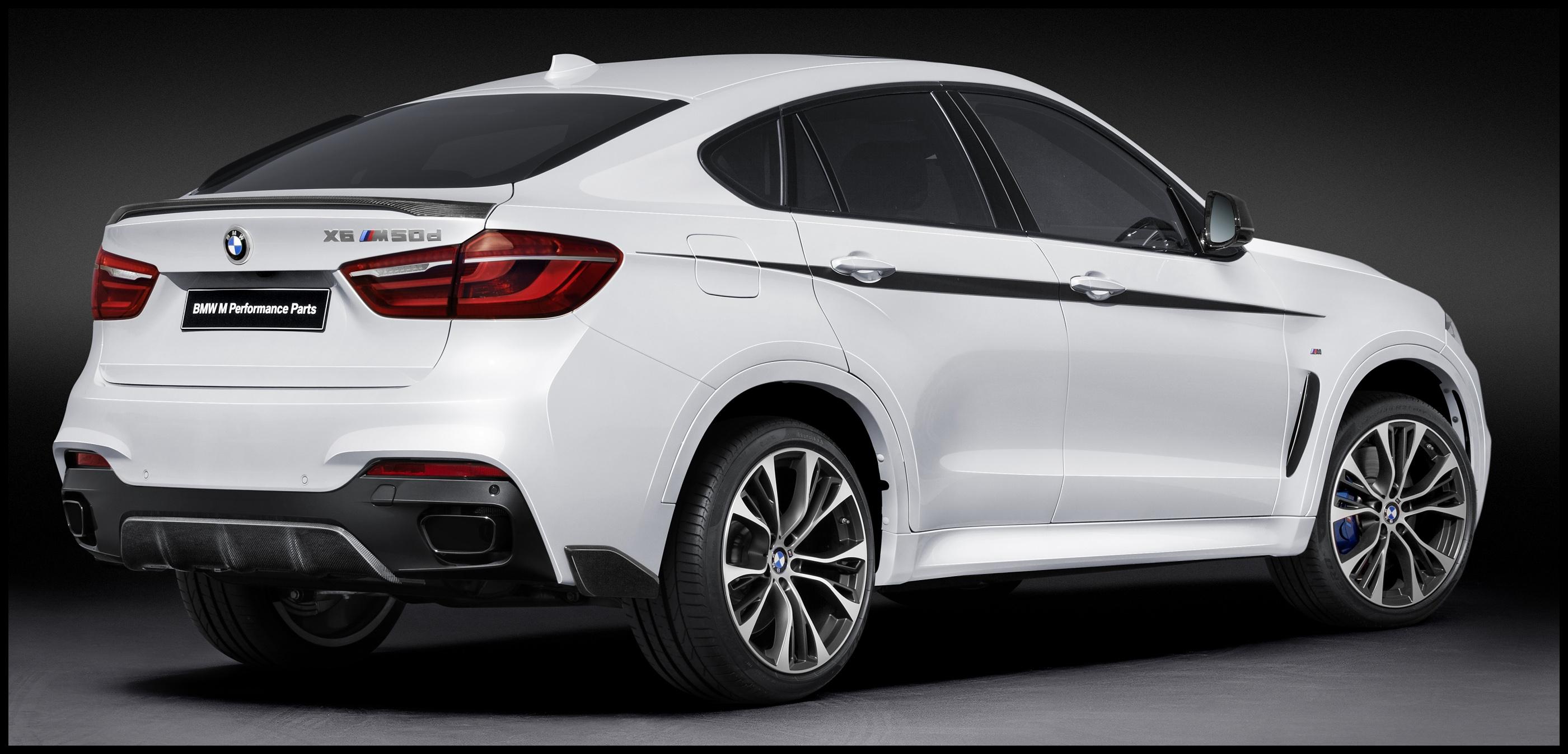 BMW X6 F16 2014 2016 PERFORMANCE AERO PACK UPGRADE BODY KIT UPGRADE BODY STYLING