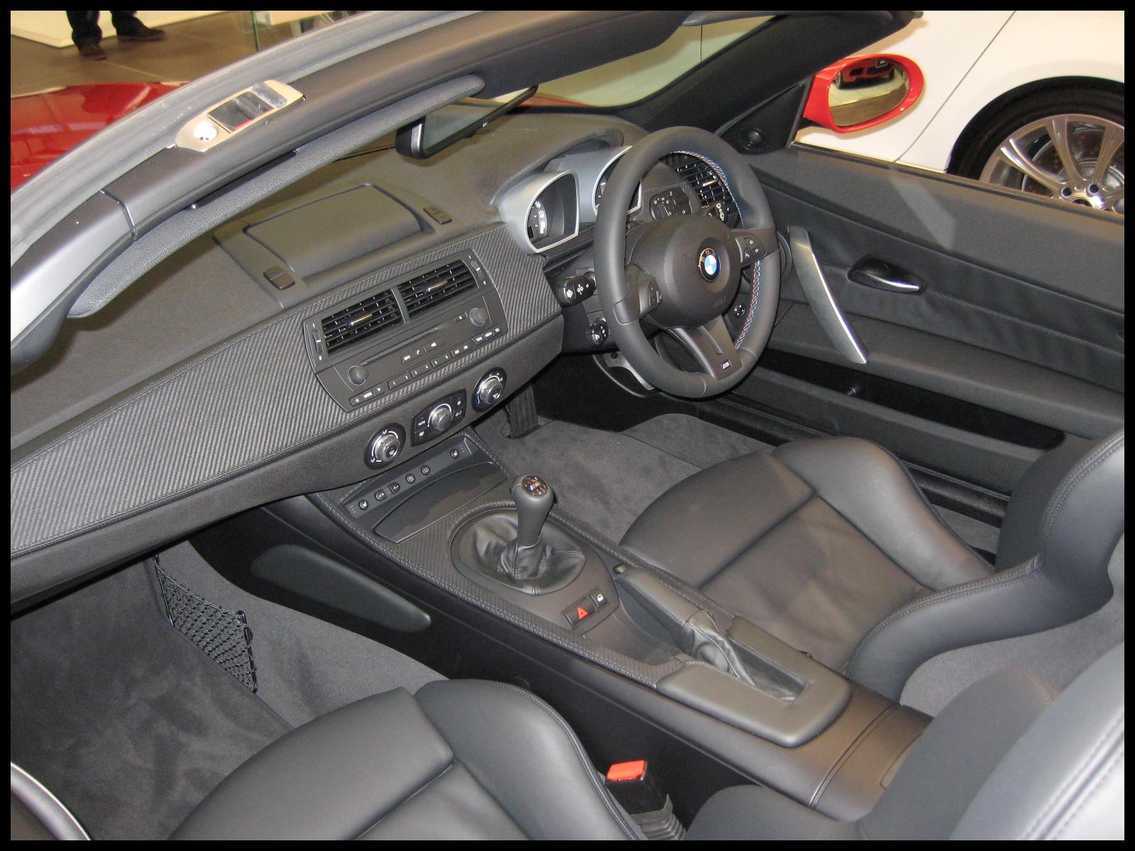 BMW Z4 M interior 4