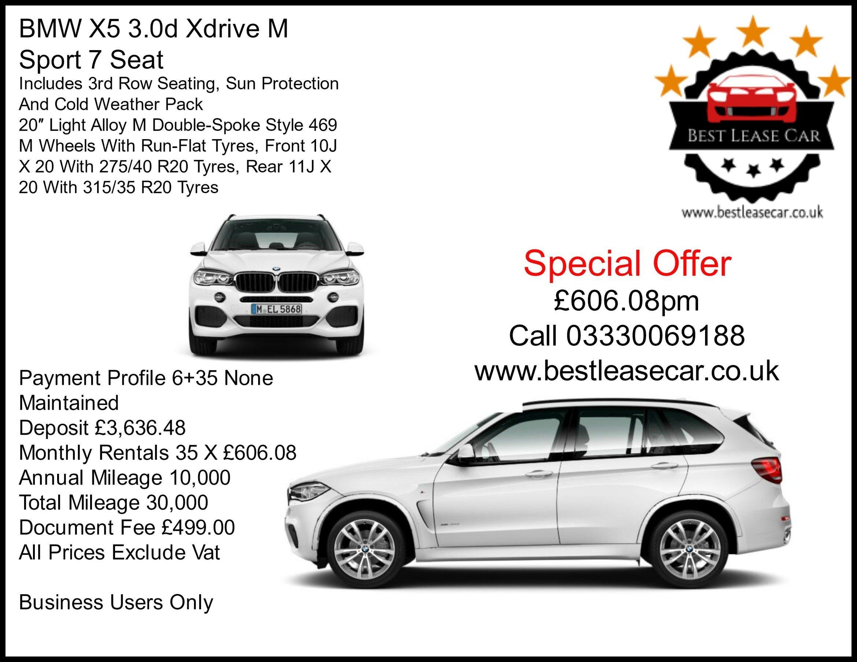 Bmw Business Lease Deals Unique Bmw X5 M Sport Deal Best Lease Car