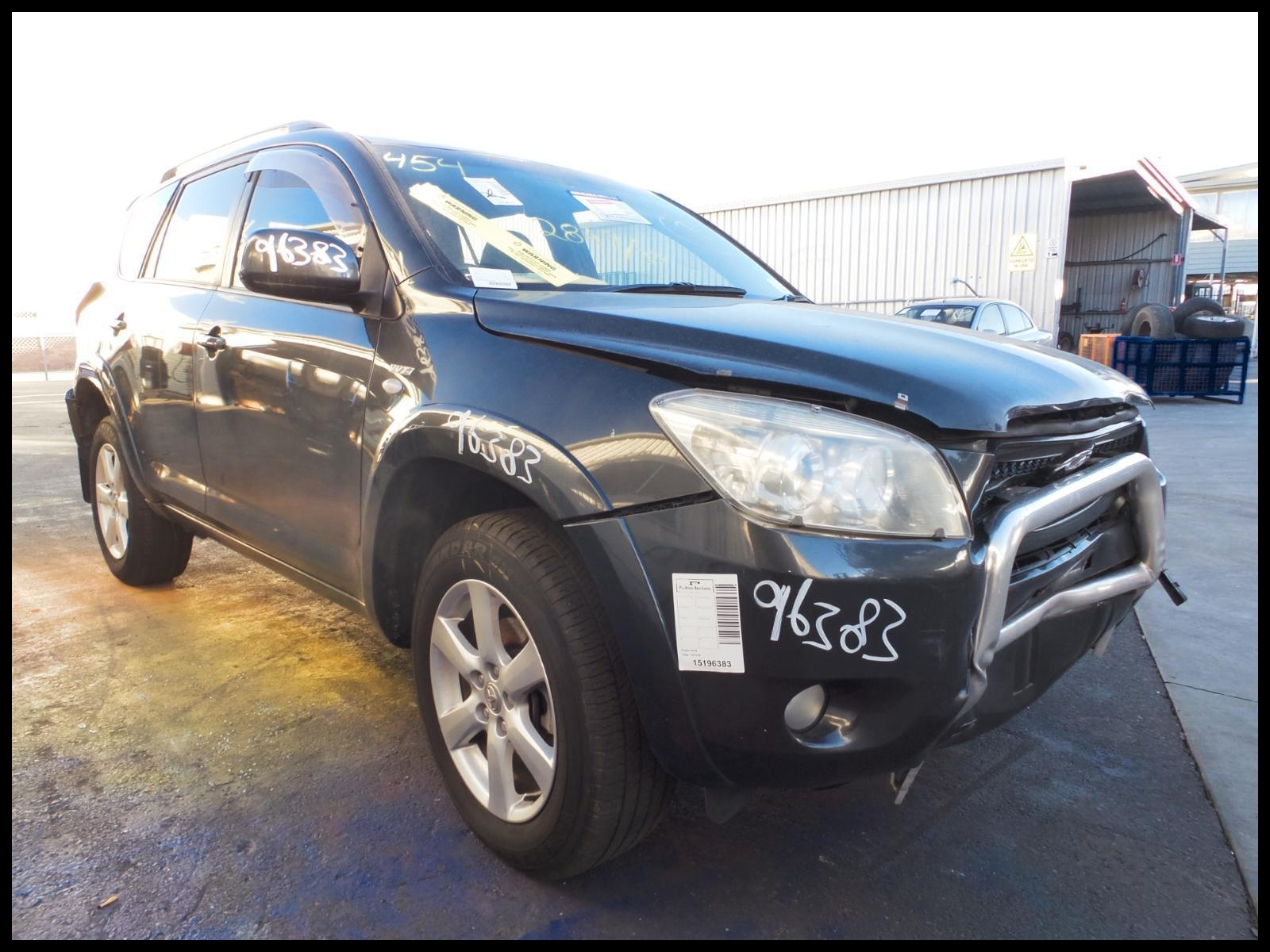 1 2 Currently we have a 2007 Toyota Rav 4