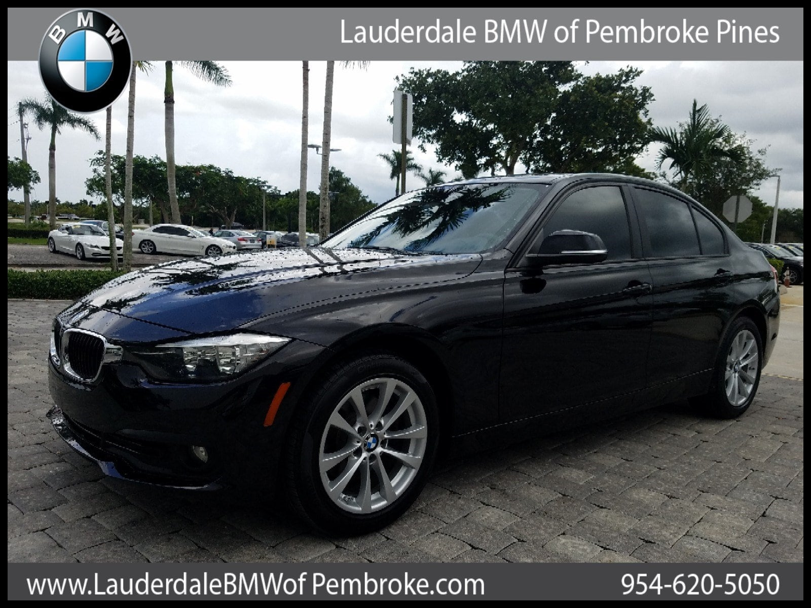 Certified 2016 BMW 320i i For Sale in Pembroke Pines FL Serving Miami