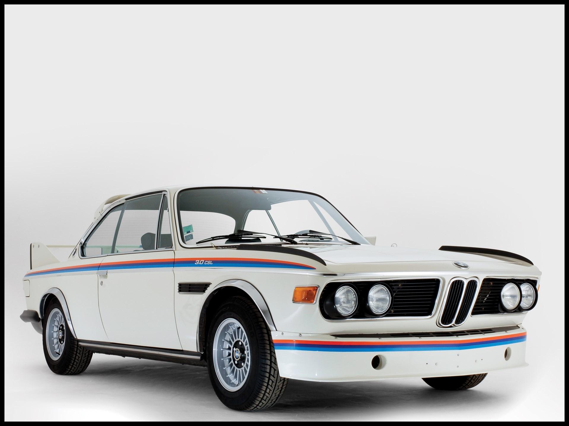 "1974 BMW 3 0 CSL ""Batmobile"""