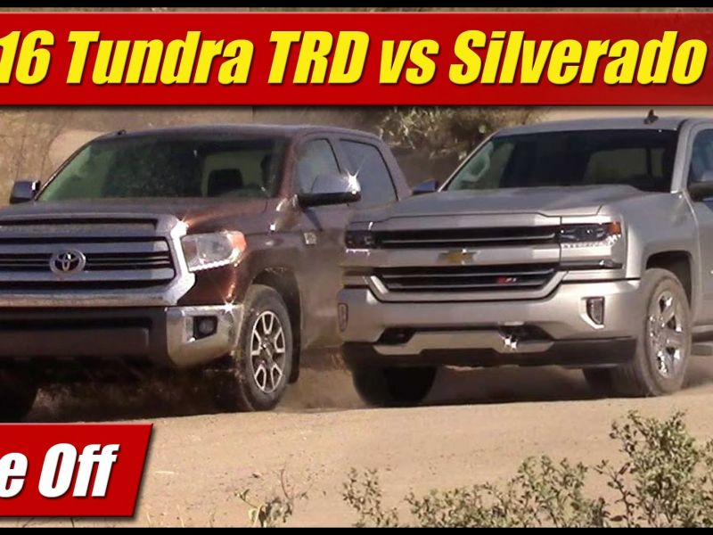 Compare ford F150 to toyota Tundra