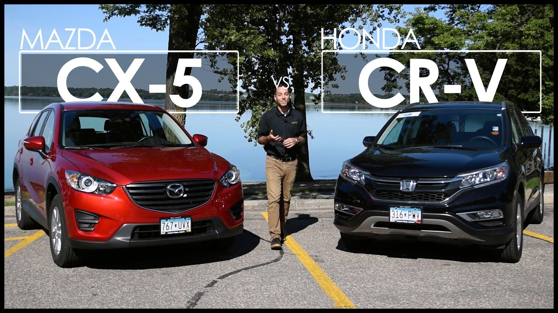 Mazda CX 5 vs Honda CR V Model parison