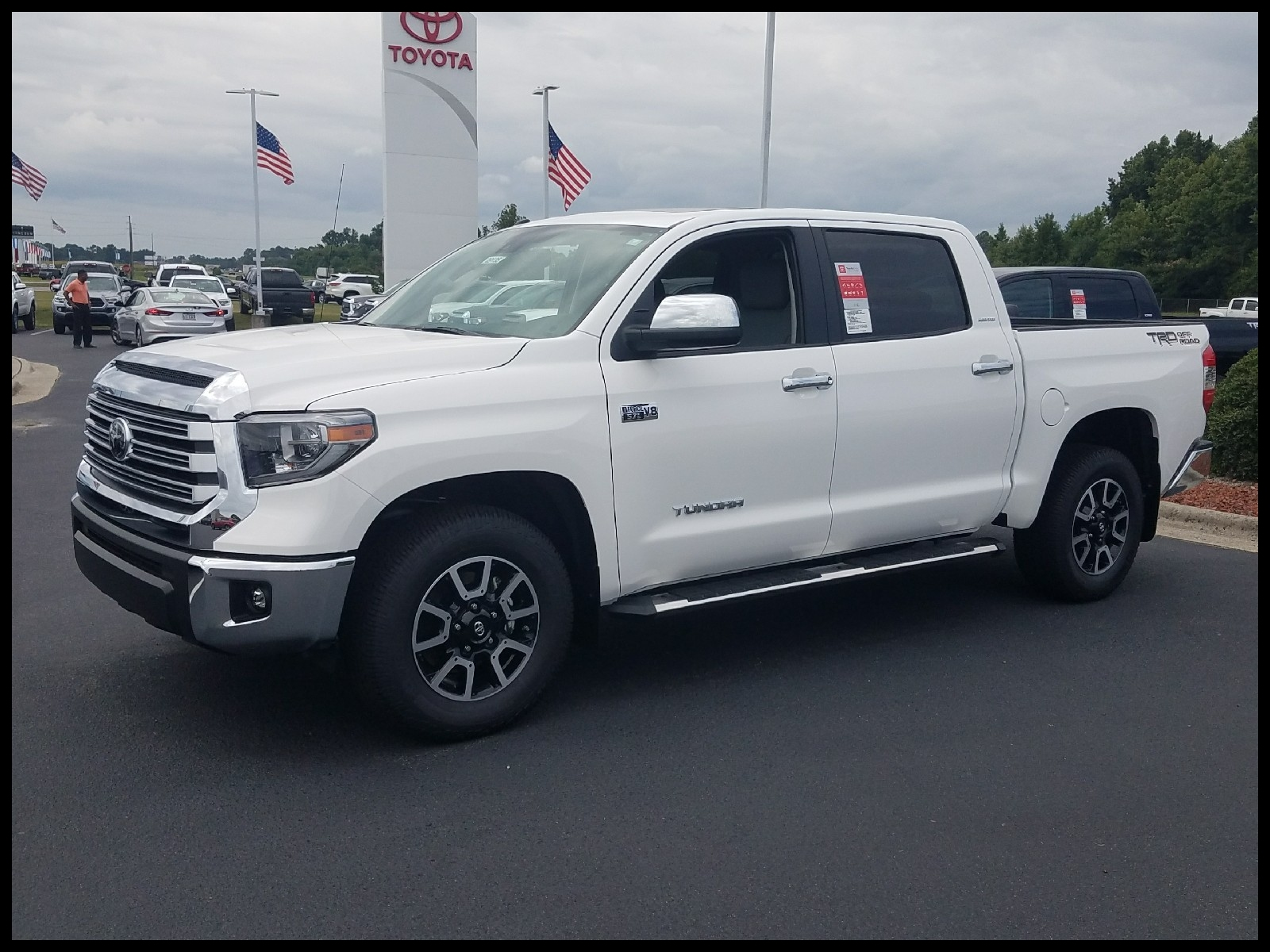 New 2018 TOYOTA TUNDRA LIMITED CREWMAX 5 5 BED 5 7L Short Bed in Goldsboro