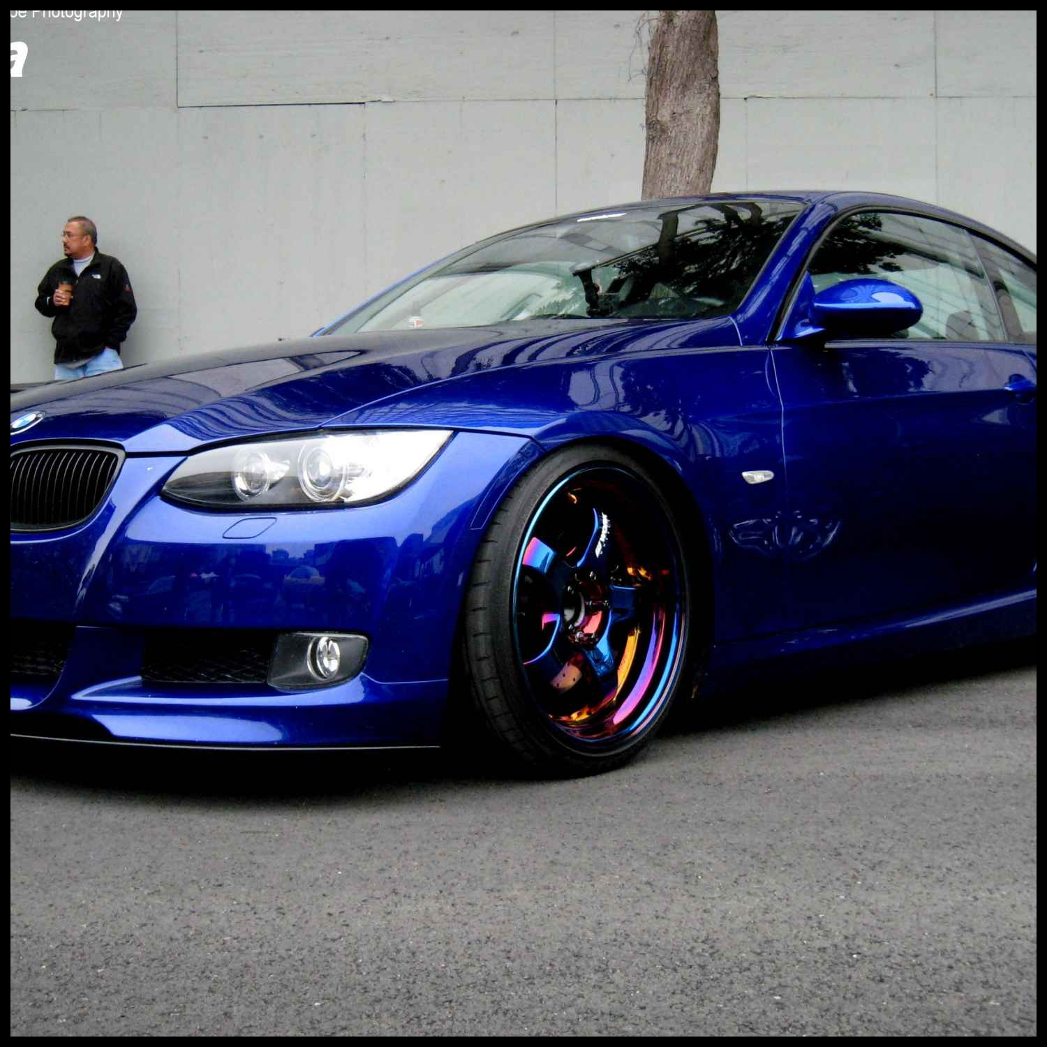 Bmw 335i Coupe Custom Really sick Bmw 335i with custom paint and