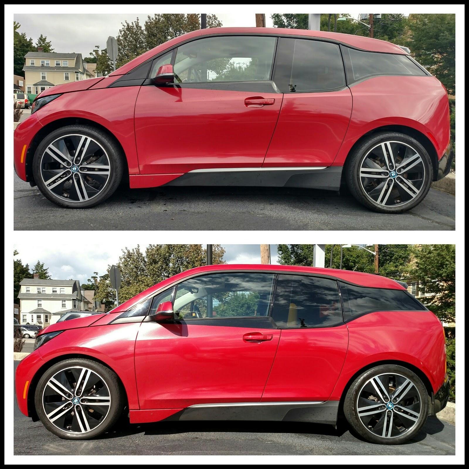 BMW i3 Mods Sport Springs & LED High Beams