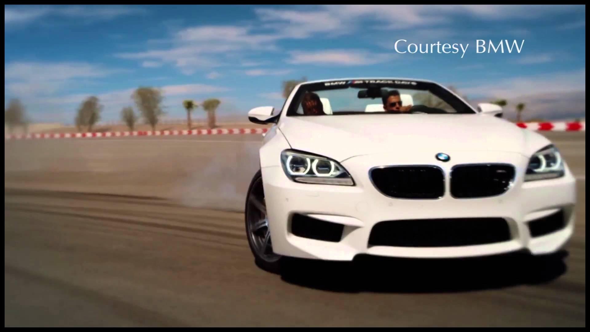 Racing BMW s in the Desert