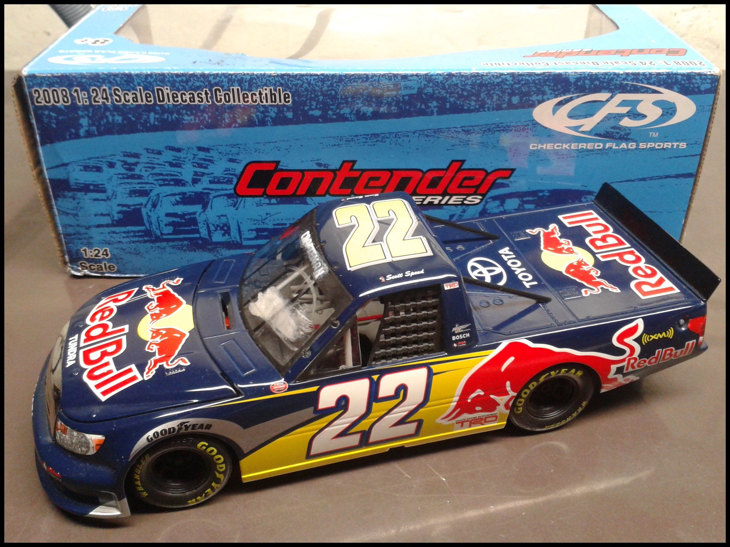 2008 Scott Speed Red Bull Toyota Tundra
