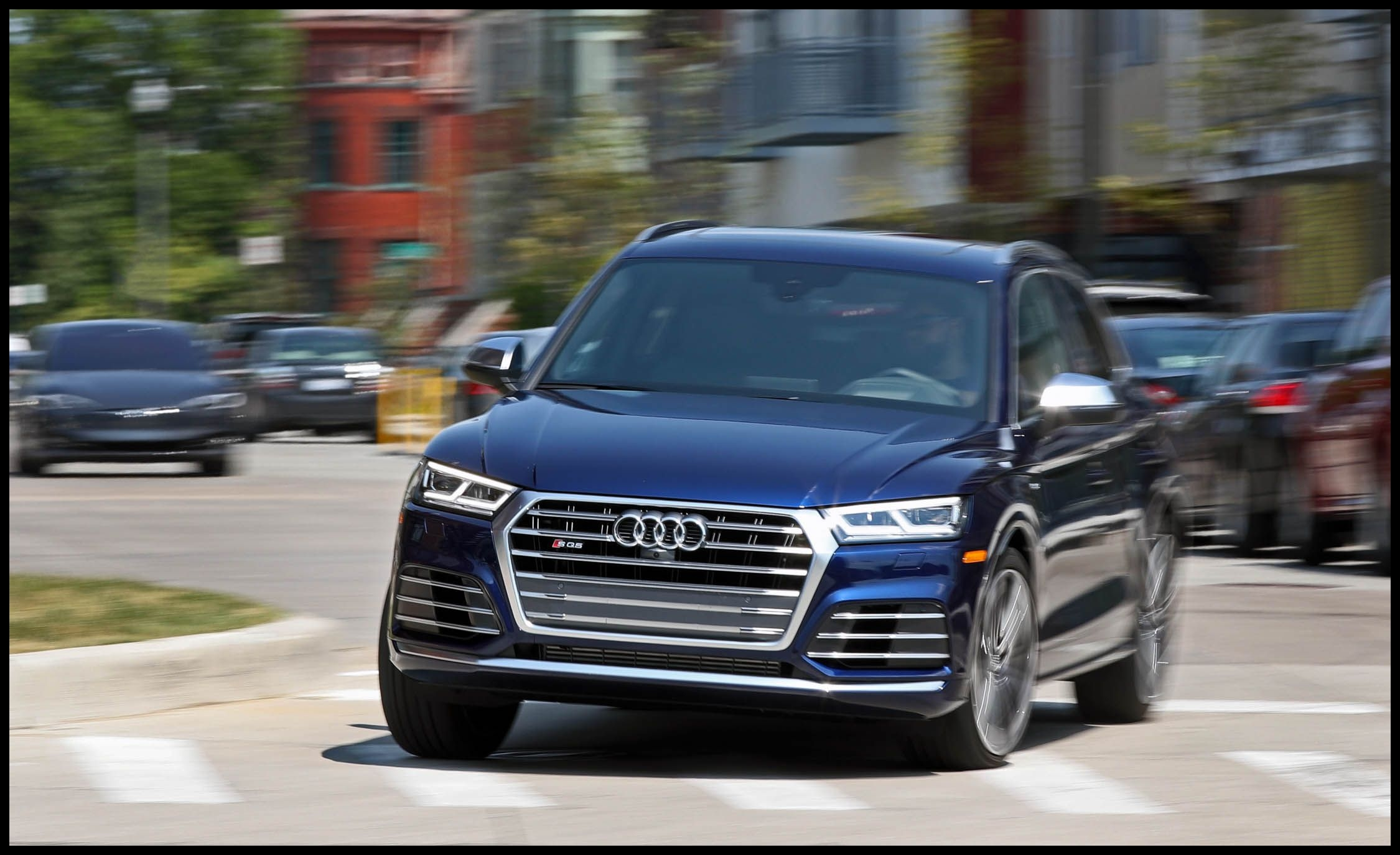 2018 audi sq5 performance and driving impressions review car and driver photo s original