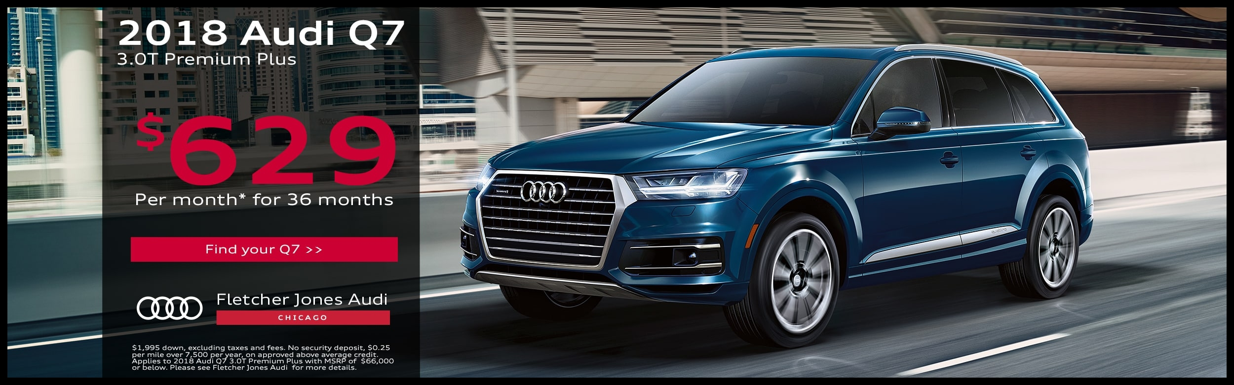 2018 Audi Q7 SUV Special fers in Chicago
