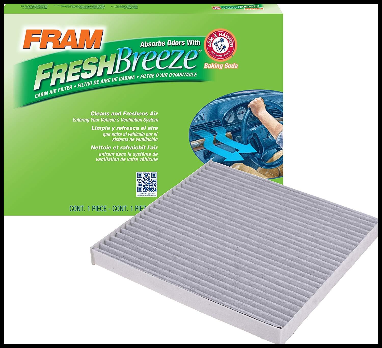 Amazon FRAM CF Fresh Breeze Cabin Air Filter with Arm & Hammer Automotive