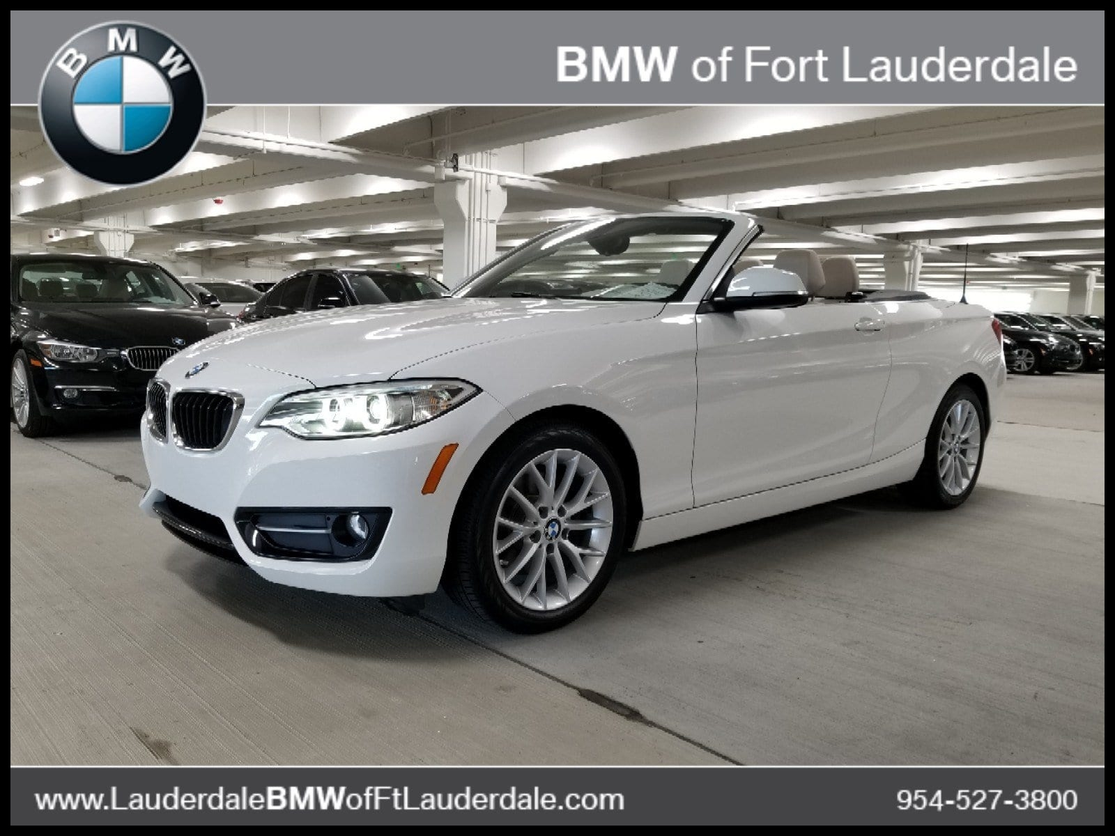 Certified Used 2016 BMW 228i For Sale in Fort Lauderdale FL Serving North Miami Beach