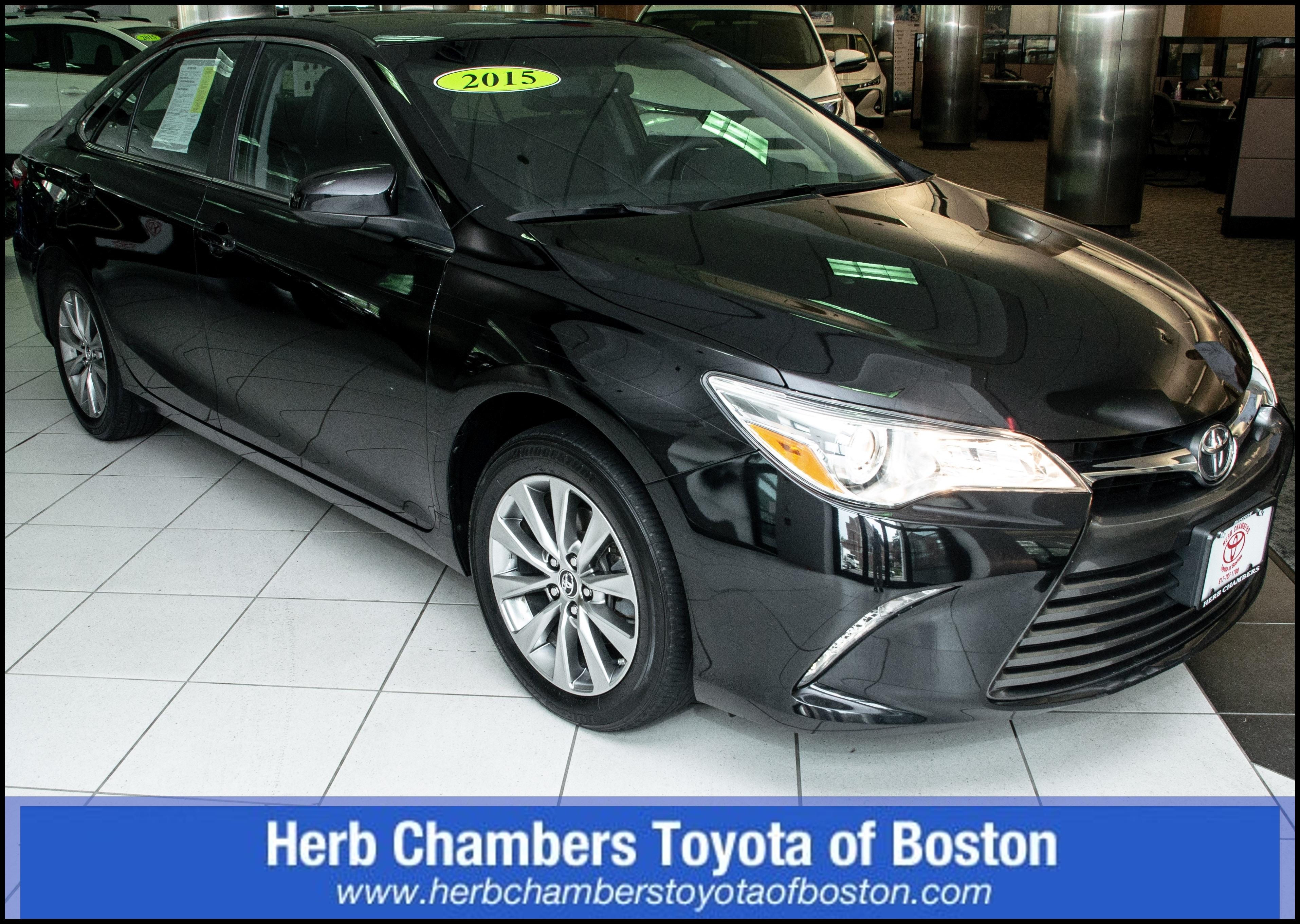 Used 2015 Toyota Camry For Sale in Boston MA Near Cambridge Newton & Quincy MA