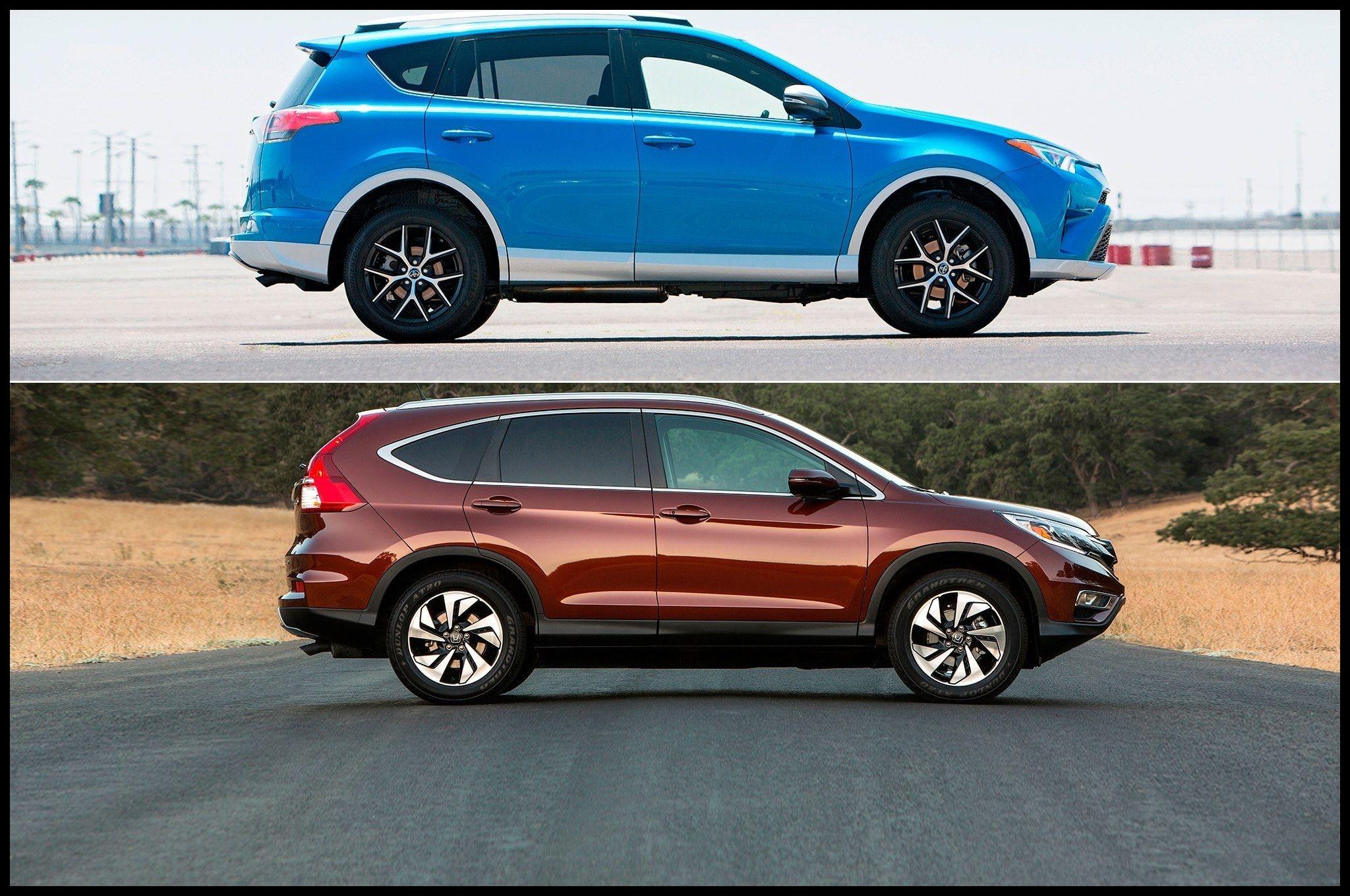 Hot News Honda Crv Vs toyota Rav4 Crv Vs toyota Exterior
