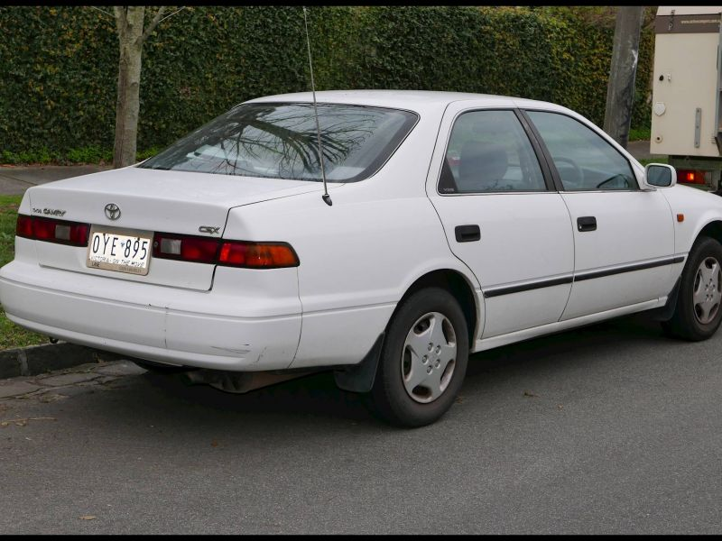How Much is A 1998 toyota Camry Worth