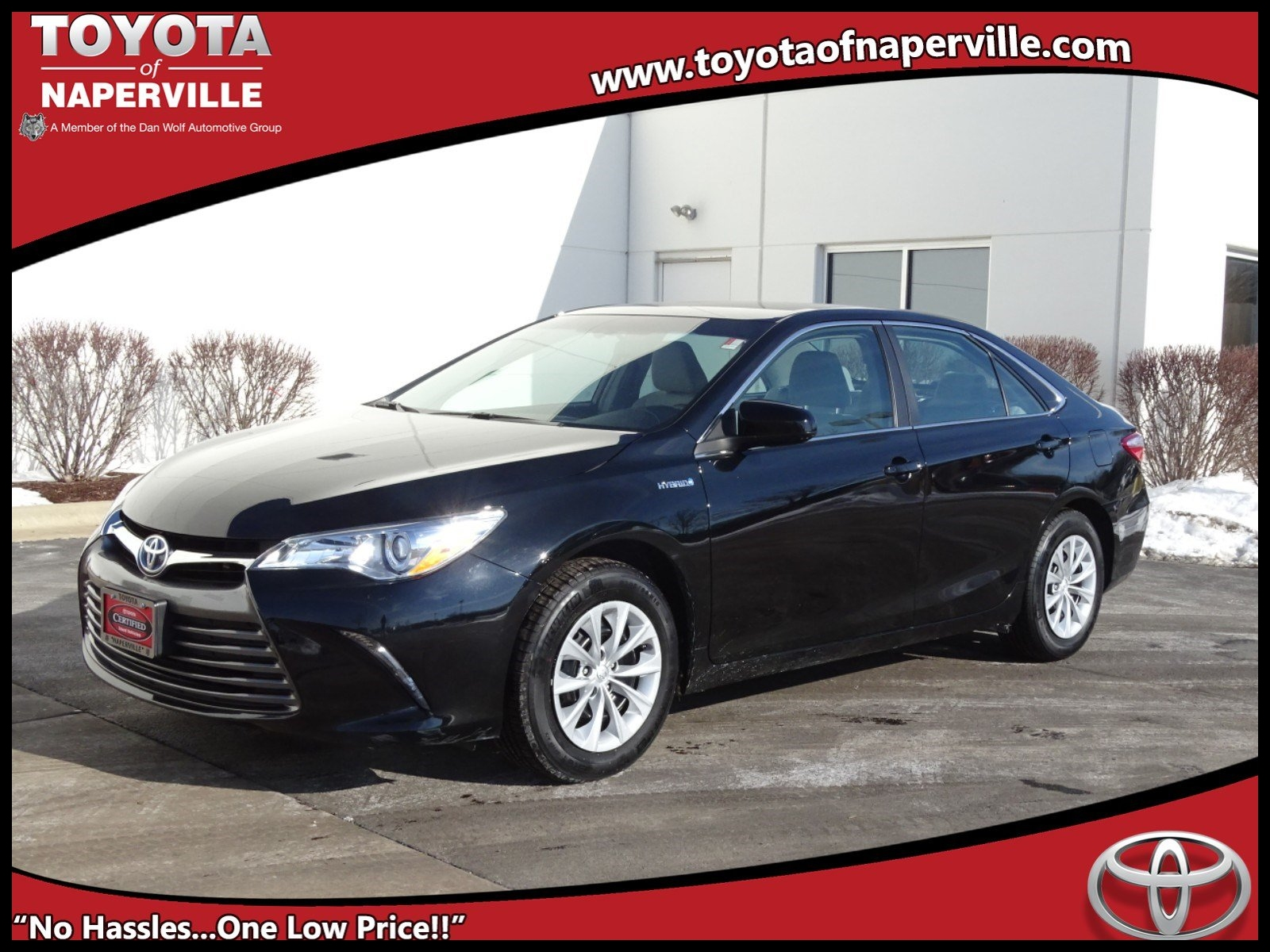 Certified Pre Owned 2015 Toyota Camry Hybrid LE