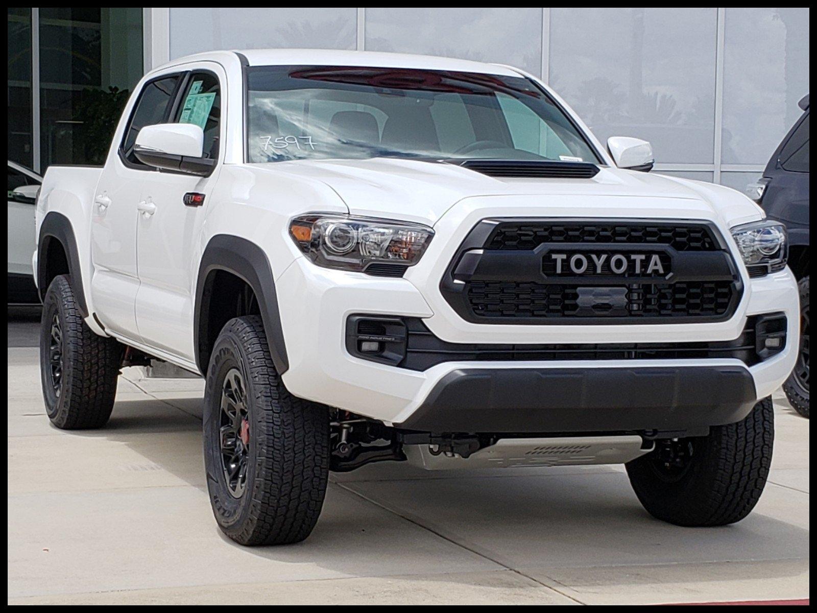 New 2018 Toyota Ta a TRD Pro