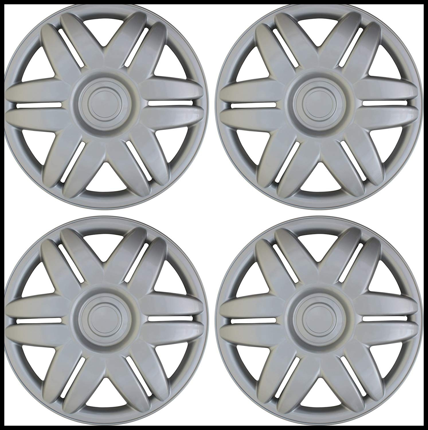 "Amazon 15"" Set of 4 Hubcaps 2000 2001 Toyota Camry Wheel Covers Design Are Universal Hub Caps Fit Most 15 Inch Wheels Automotive"