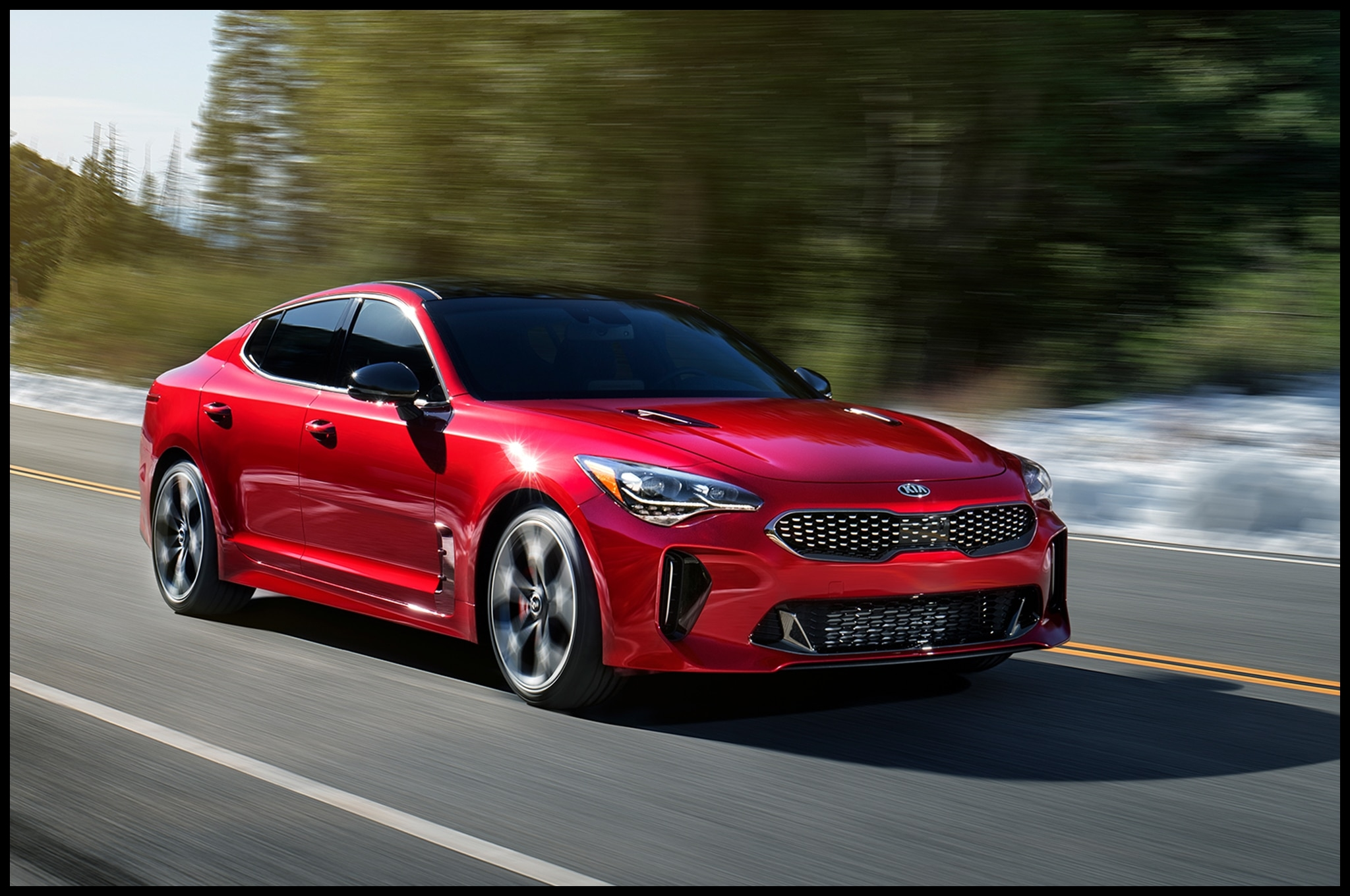2018 KIA Stinger GT e of the Most underrated cars this year