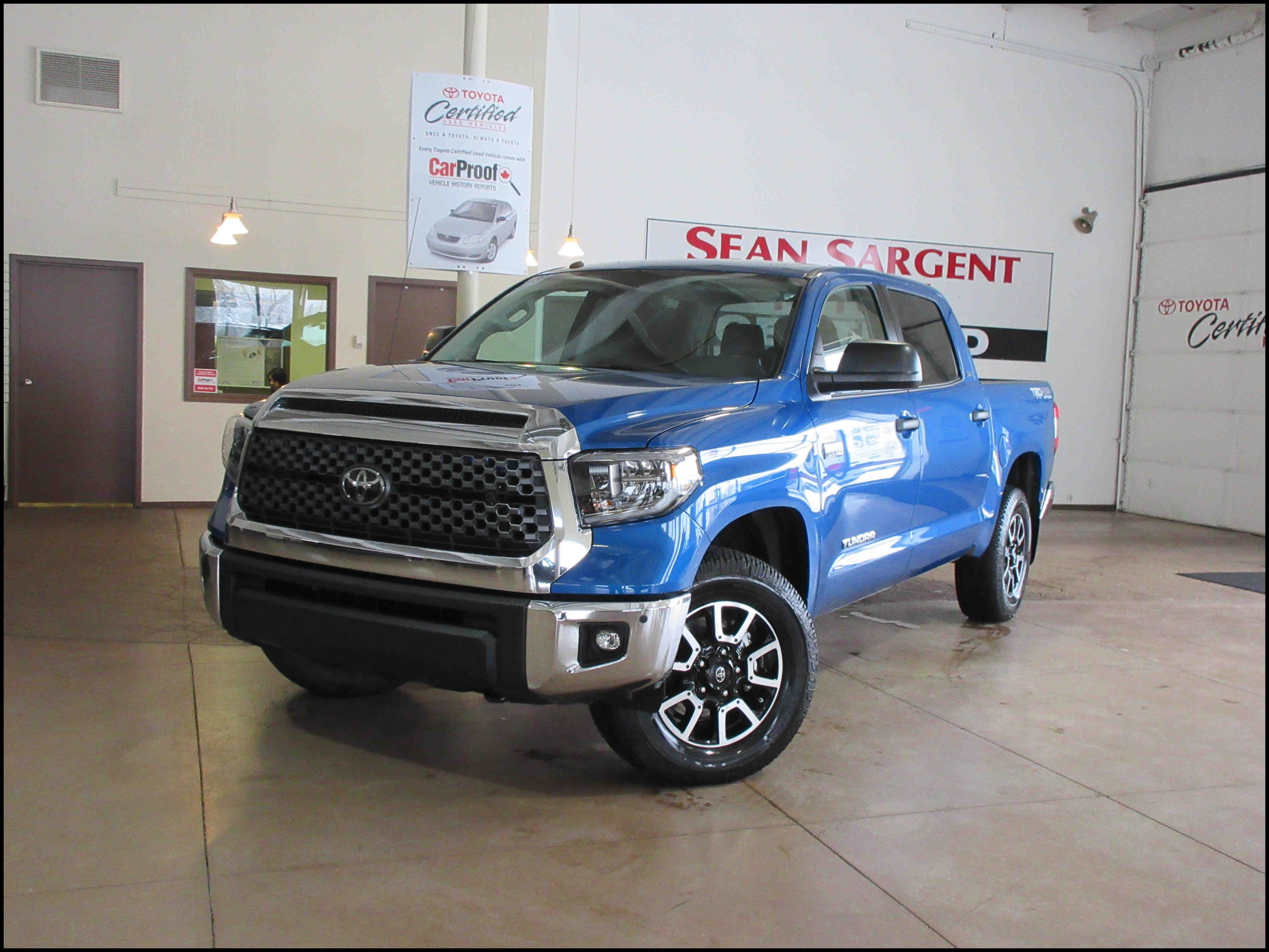Special New 2018 toyota Tundra Trd F Road Crew Max In Grande Prairie Redesign and Price