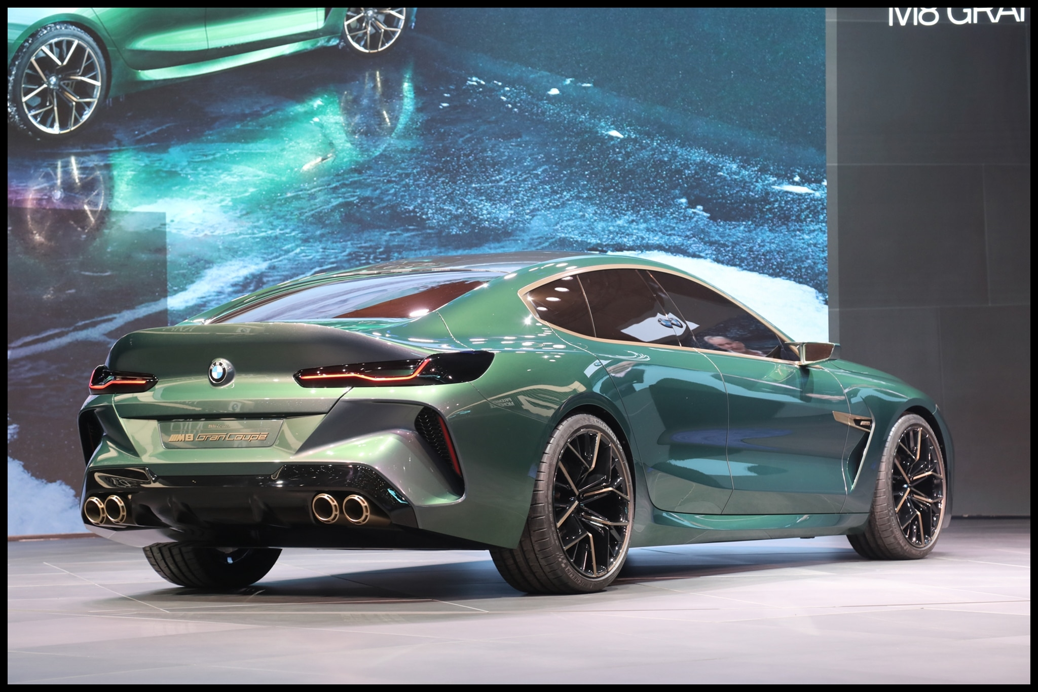 Bmw M8 Price Four Door BMW Concept M8 Gran Coupe Concept Unveiled in