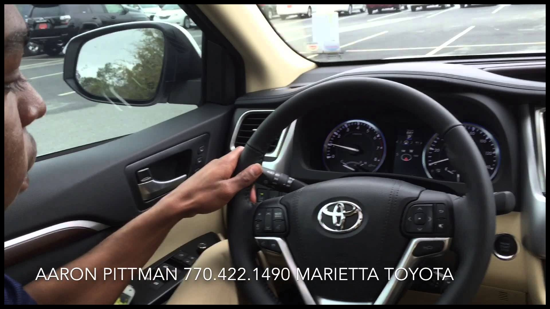 New 2015 Toyota Highlander Limited Platinum presented by Aaron Pittman at Marietta Toyota