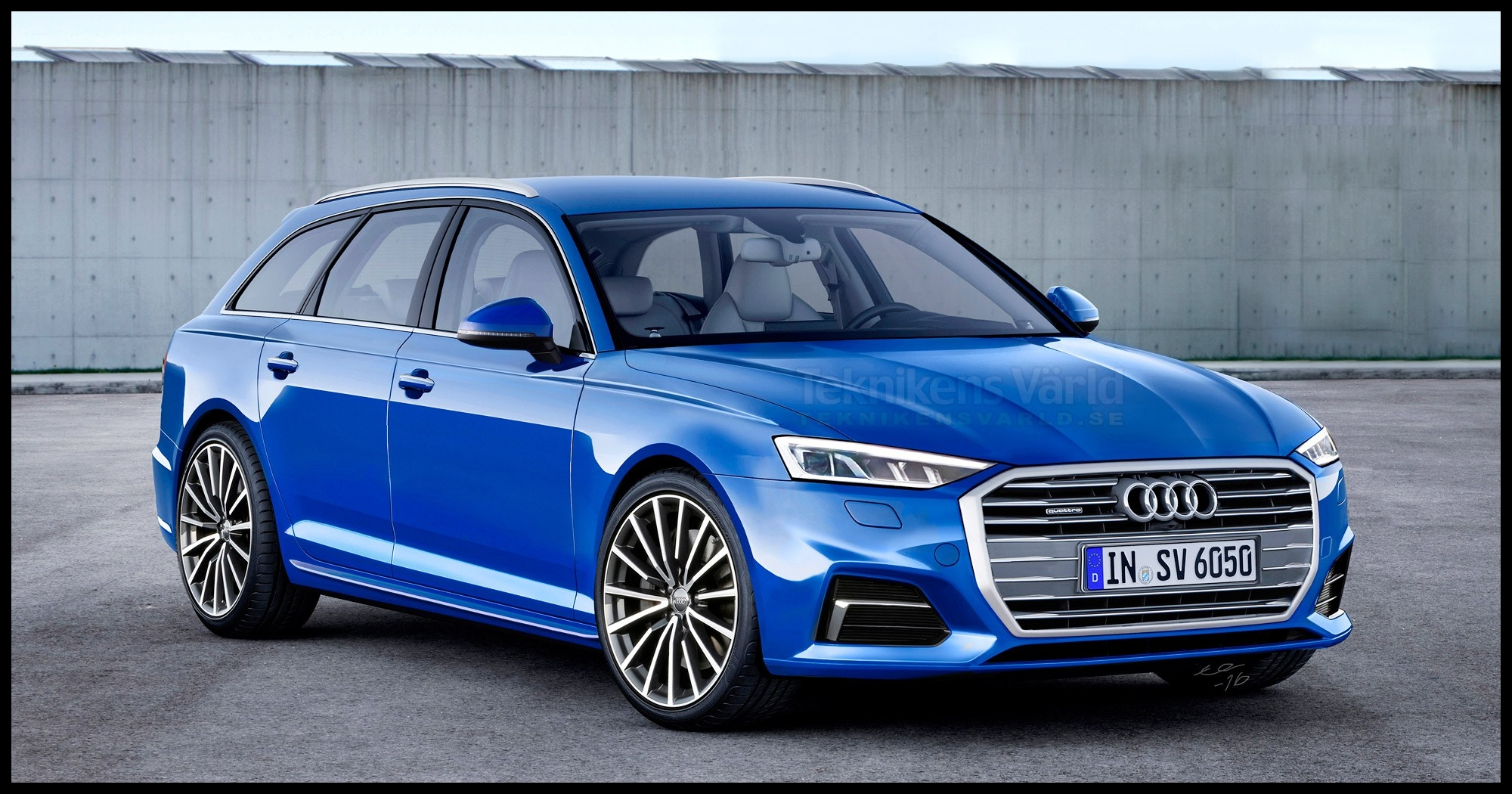 Audi A6 C8 Audi A6 Avant 2019 Illustration A6l illinois liver