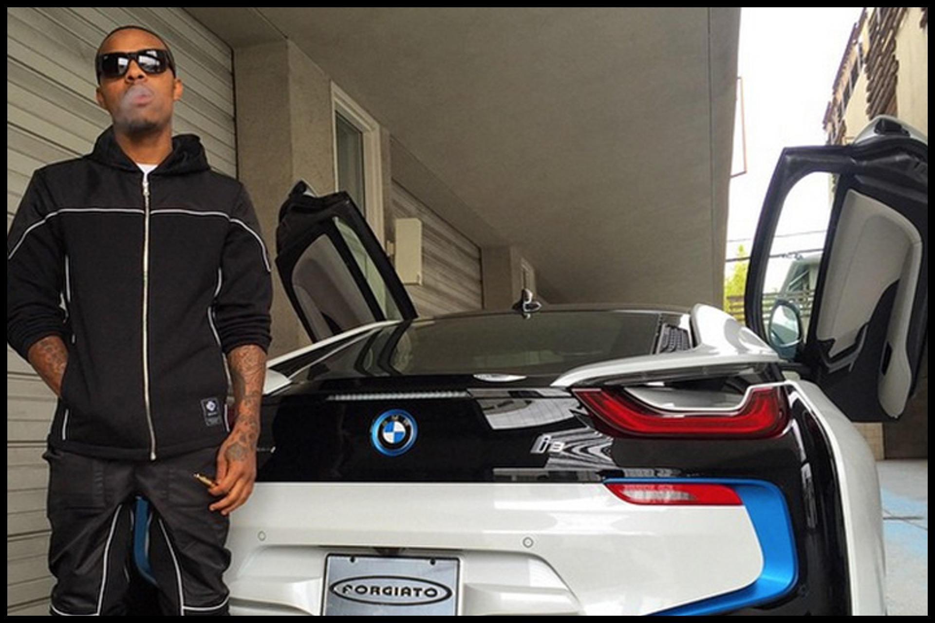 bow wow selling bmw i8 for 147k cuz of a broken heart