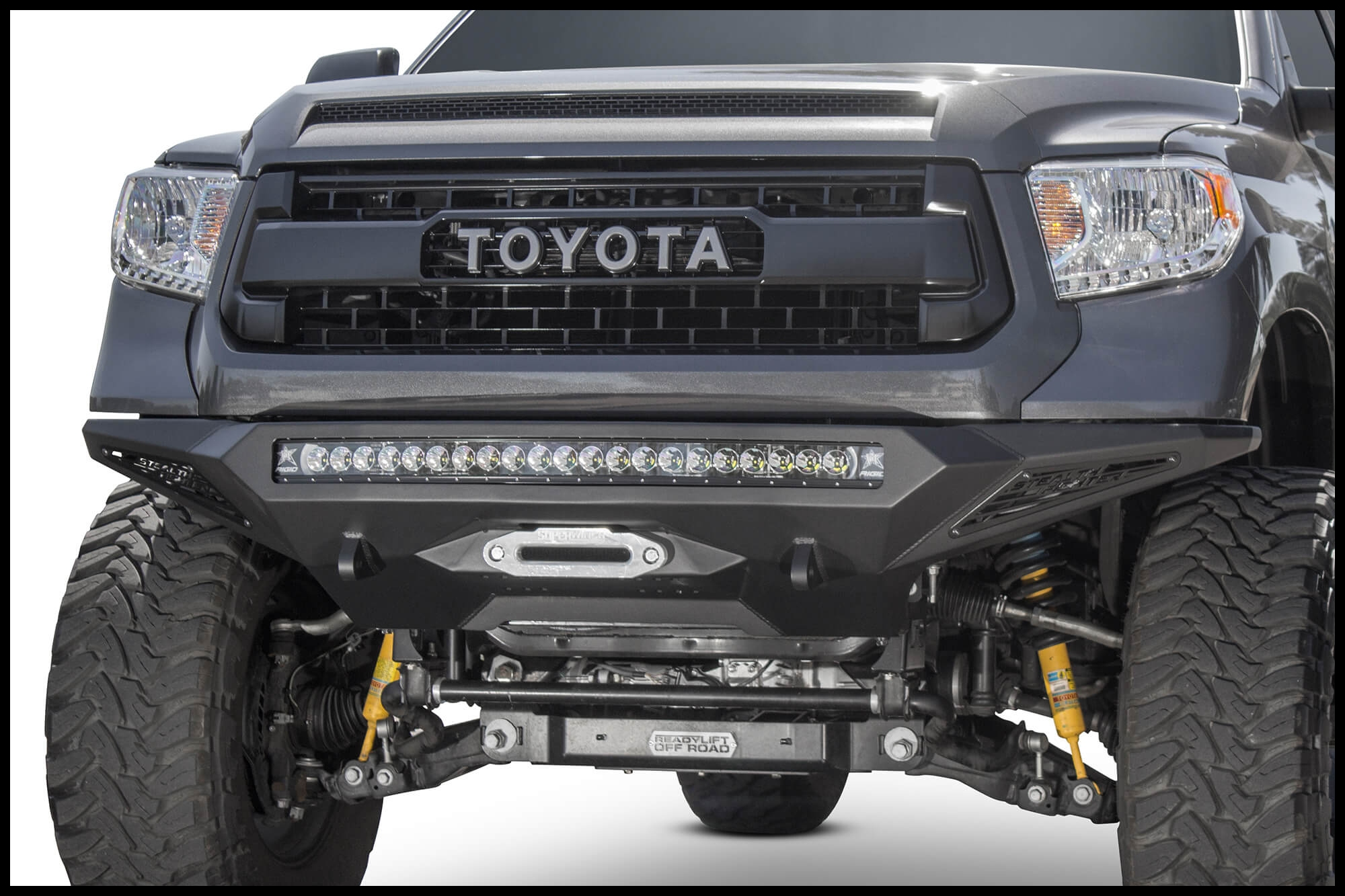 NEW ADD 2014 2018 Toyota Tundra Stealth Fighter Winch Front Bumper