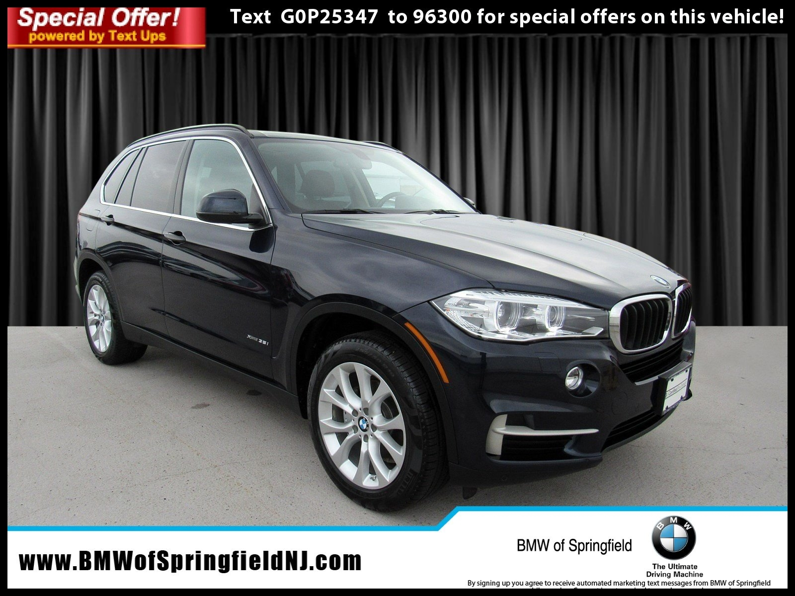 Certified Pre Owned 2016 BMW X5 xDrive35i