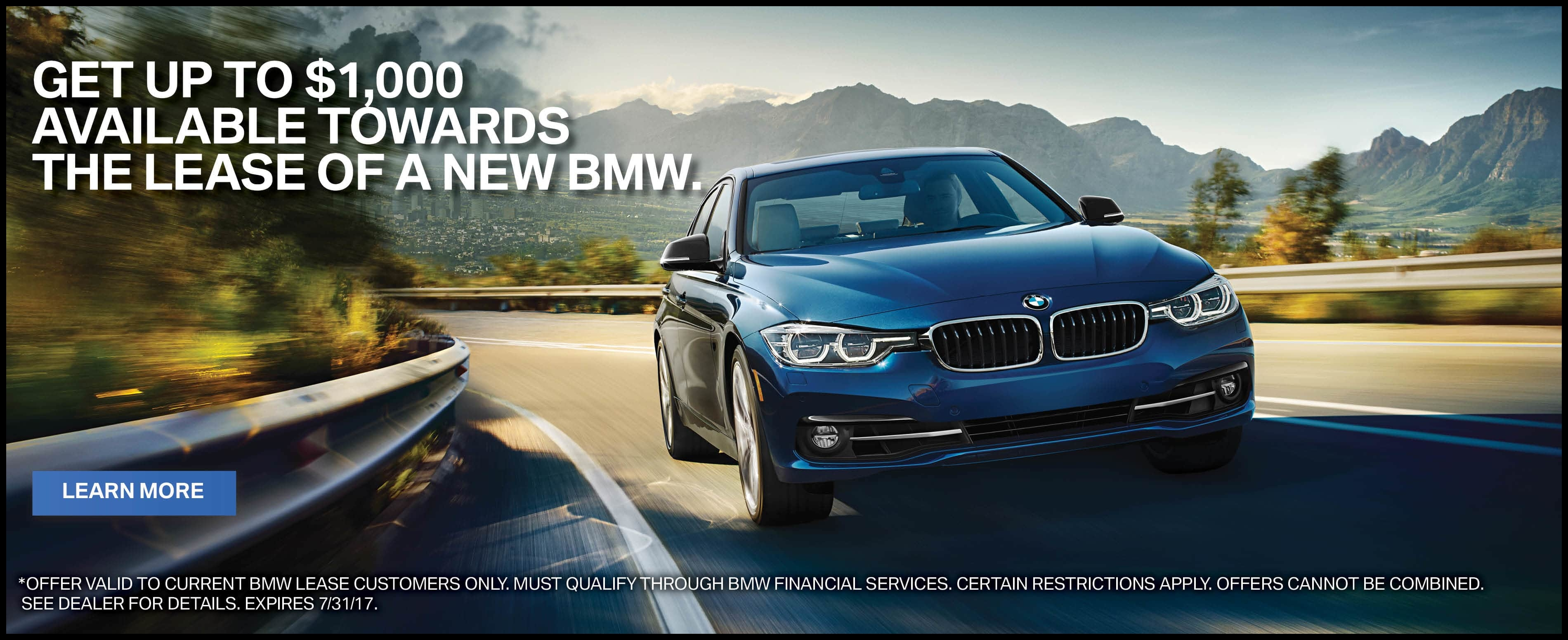 BMW Financial Services Lease Loyalty Promotion