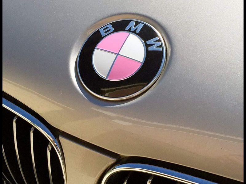 Pink Bmw Emblem