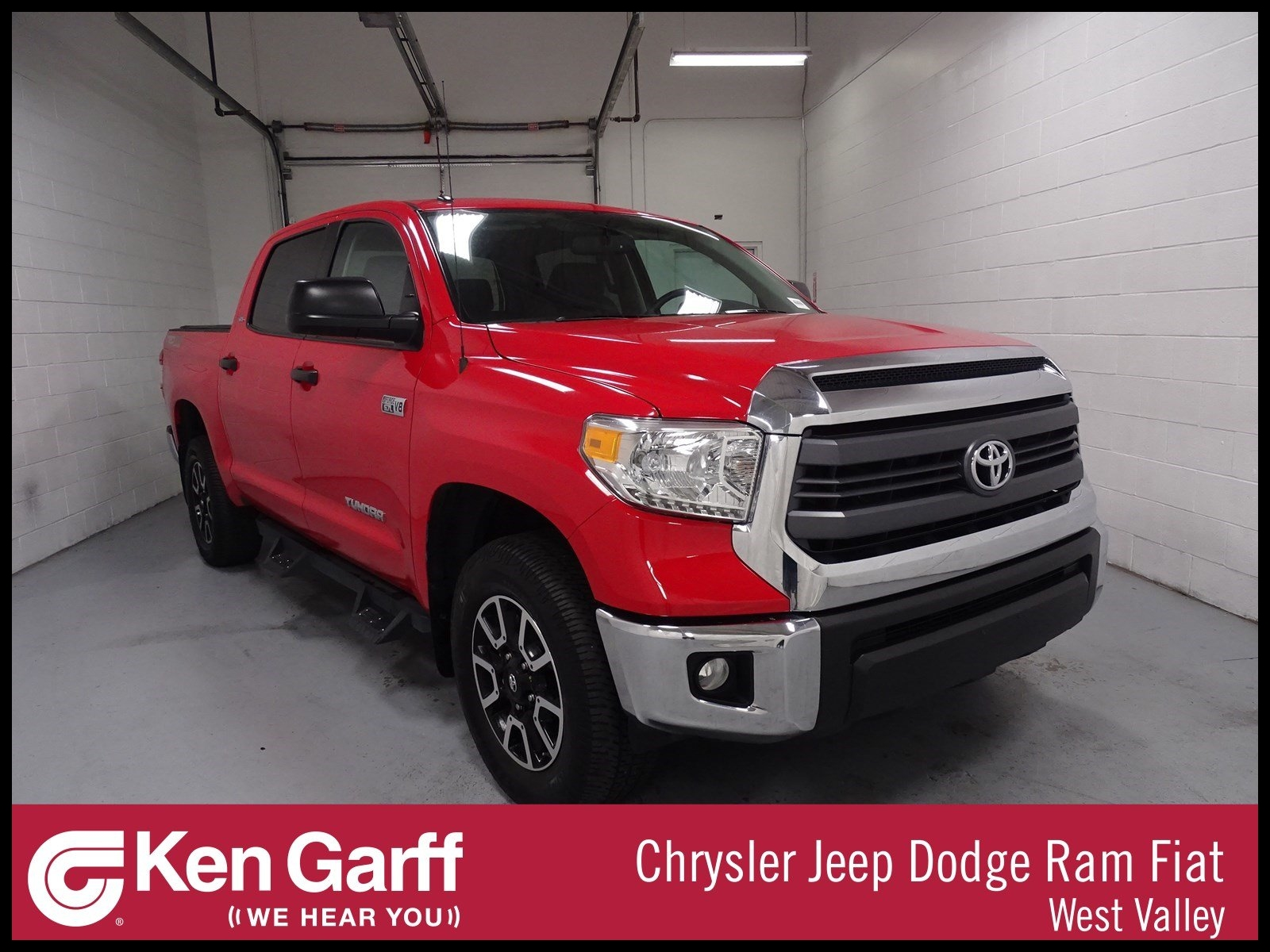 Pre Owned 2014 Toyota Tundra 4WD Truck SR5