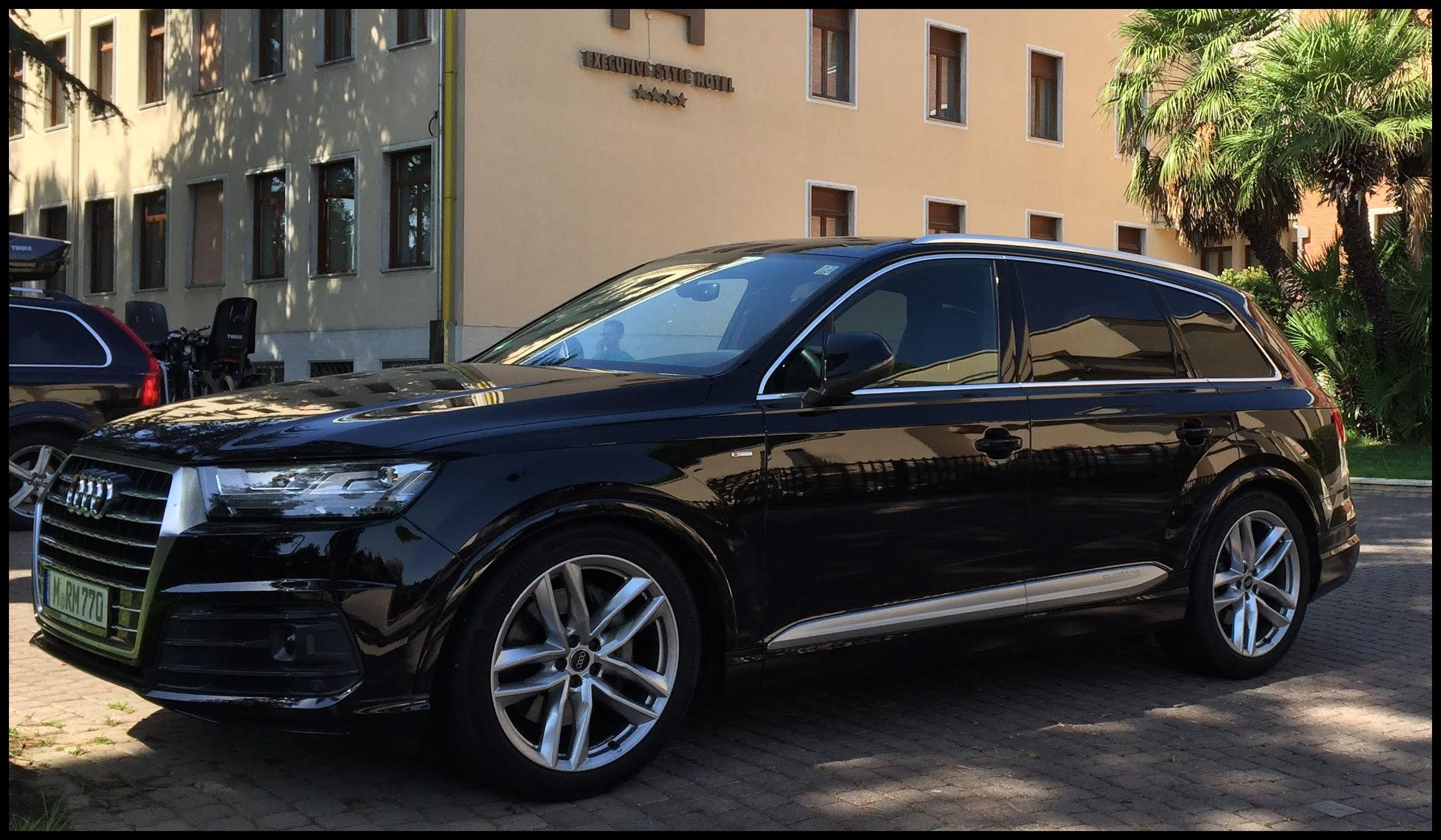 Audi Q7 3 0 TDI Black