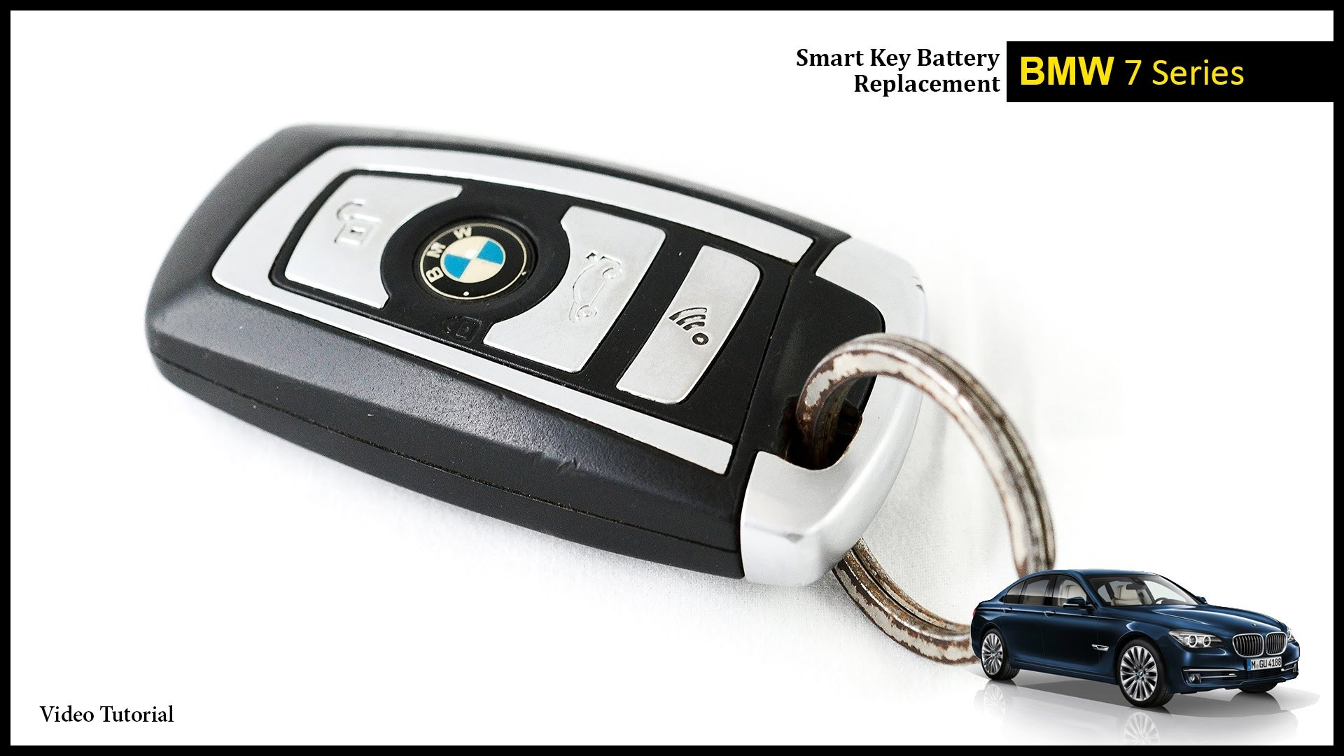 Bmw Replacement Key Price Unique Bmw 7 Series Smart Key Battery Change
