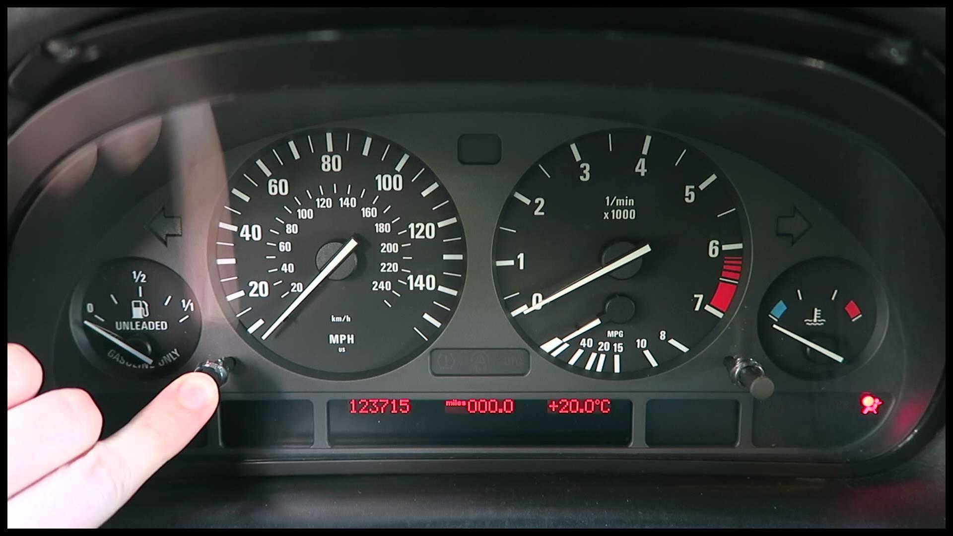 X5 Service Interval Light Reset E53 BMW