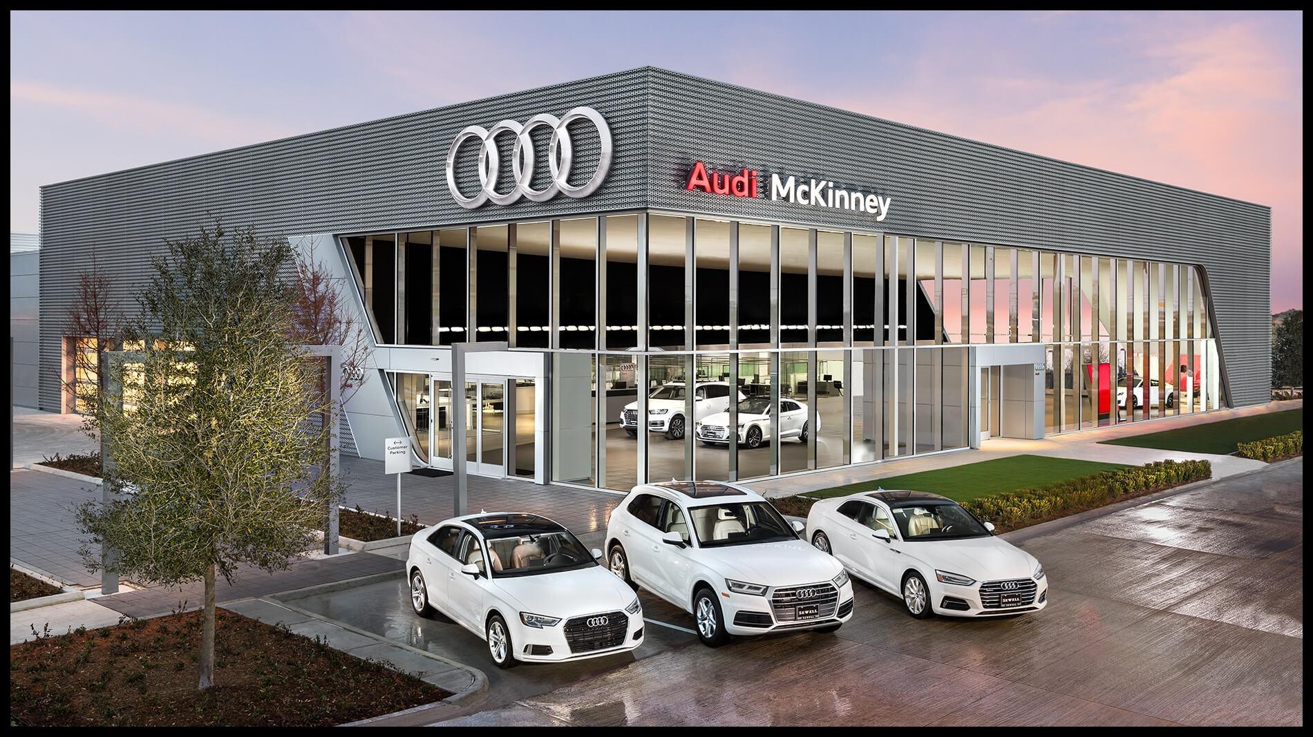 Sewell Audi McKinney Exterior