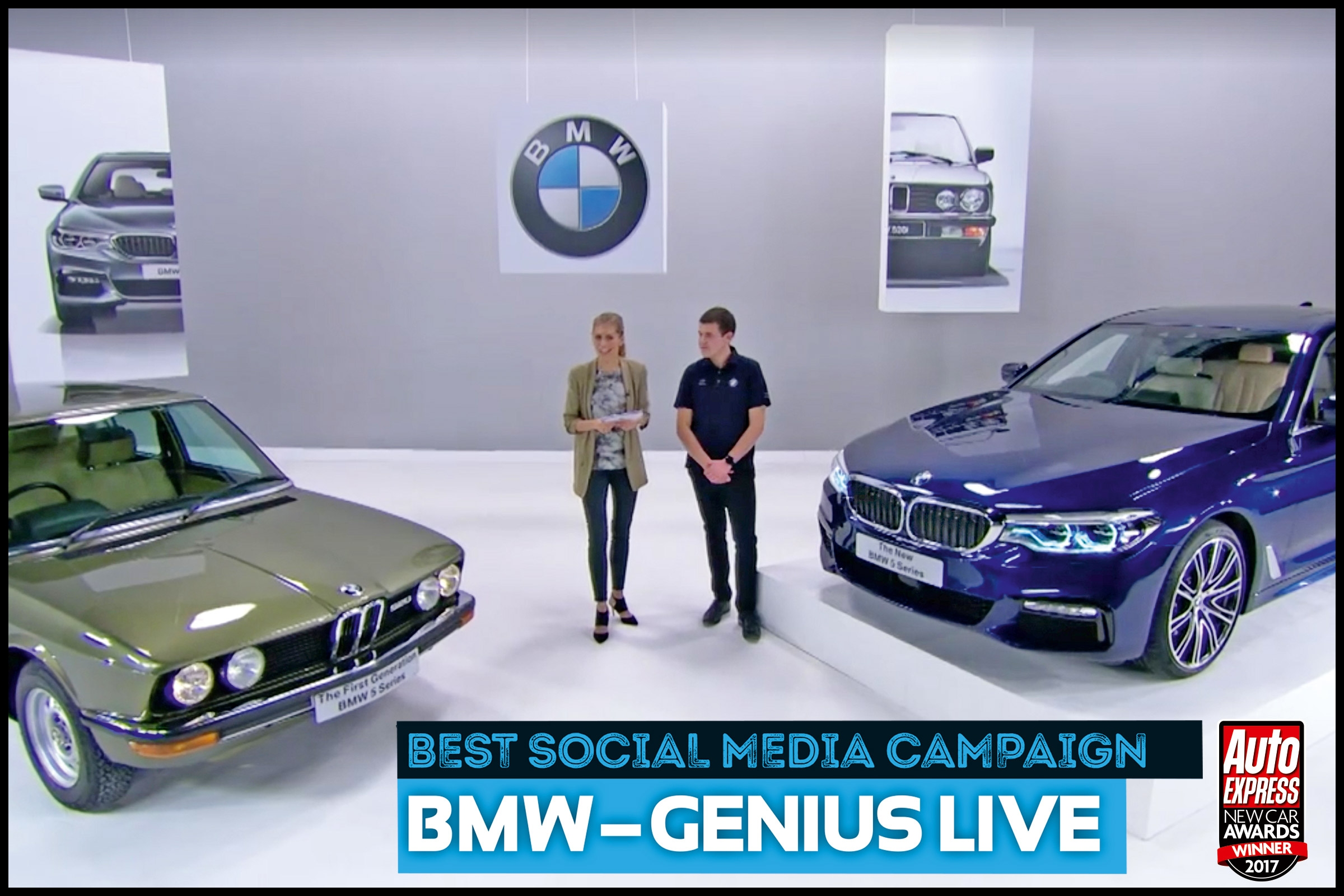 Social Media Campaign of the Year 2017 BMW New Car Awards 2017 The winners