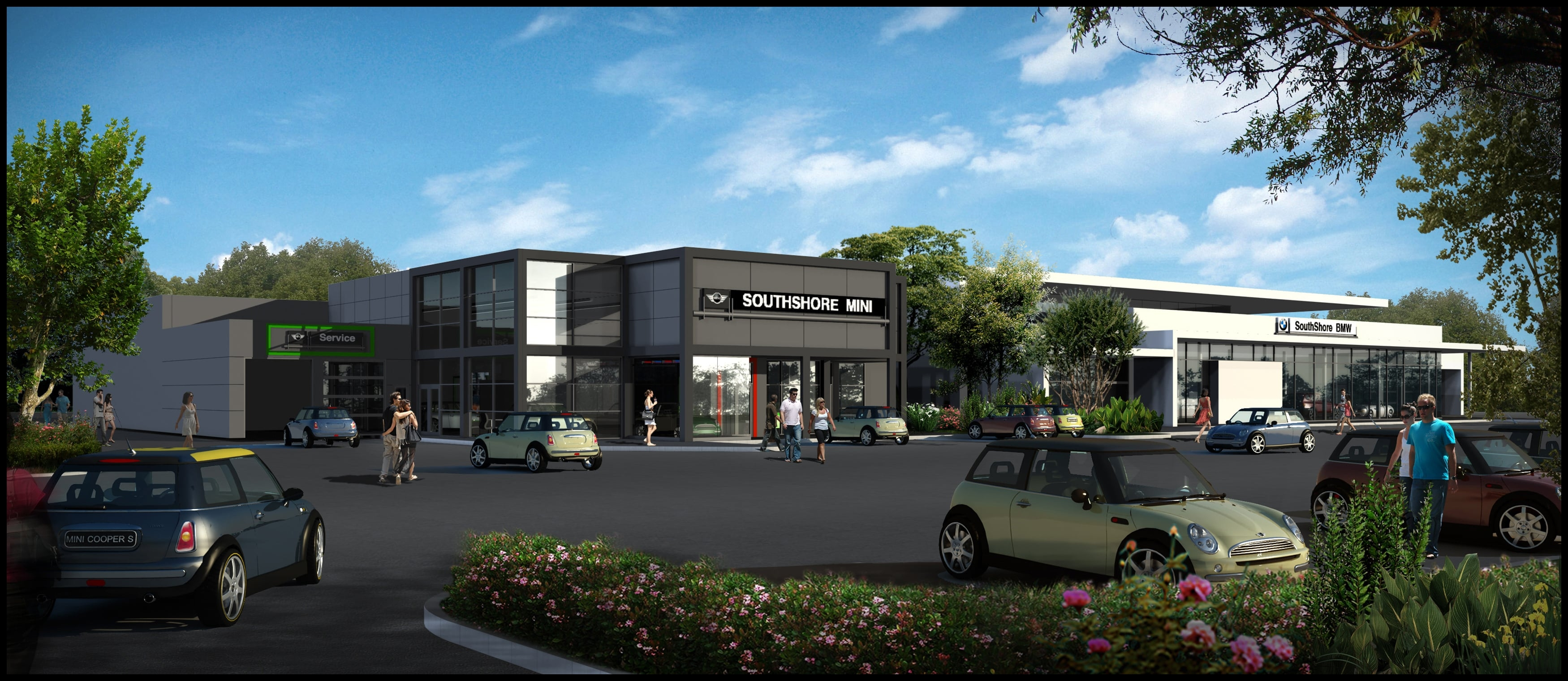 """""""Our new location offers our current BMW clientele and anyone who is passionate about driving a state of the art home on the South Shore and will offer"""