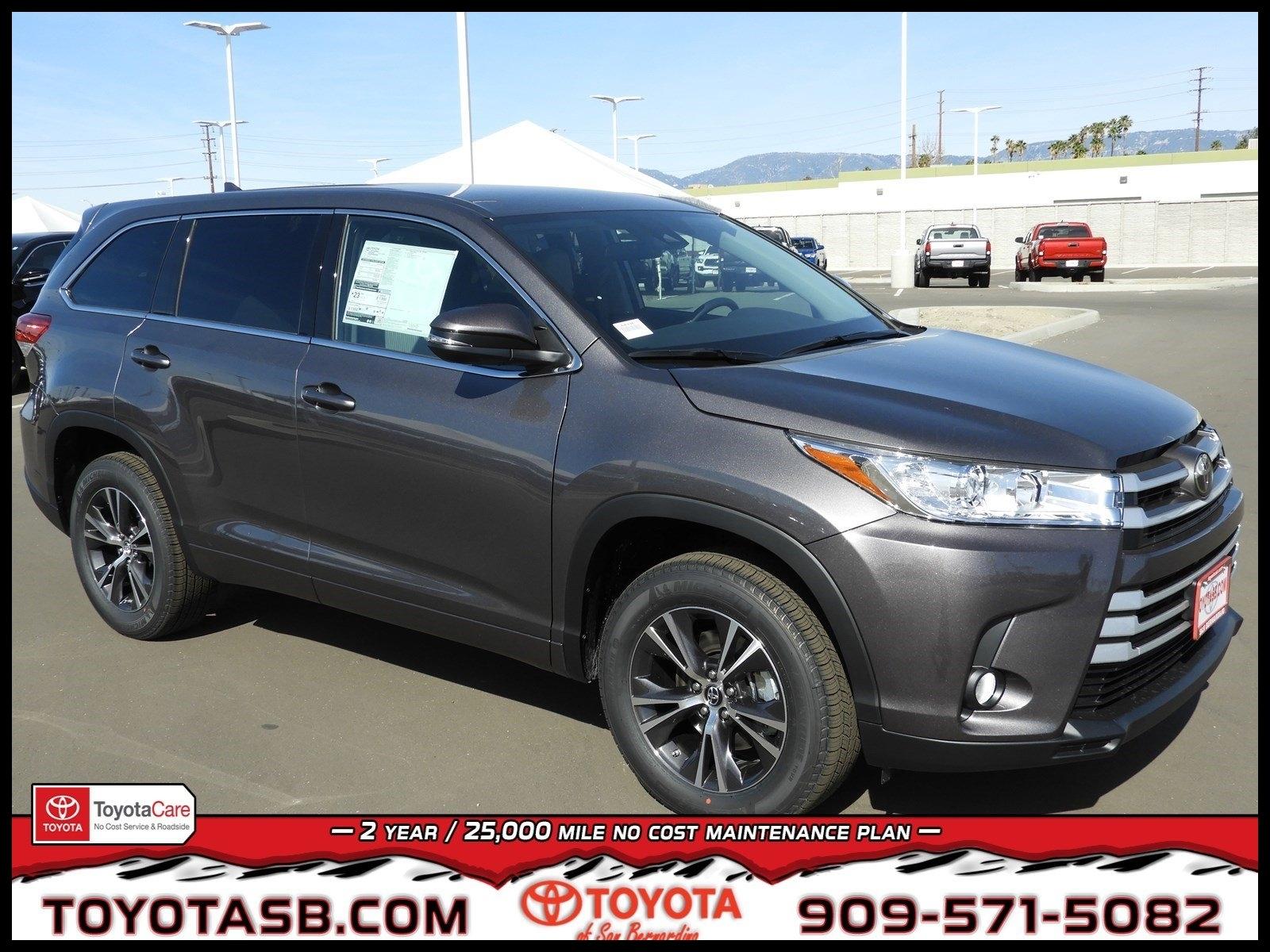 2018 Toyota Highlander for Sale in San Bernardino CA Toyota of San Bernardino 2018 Toyota Highlander for Sale in San Bernardino CA Toyota of San