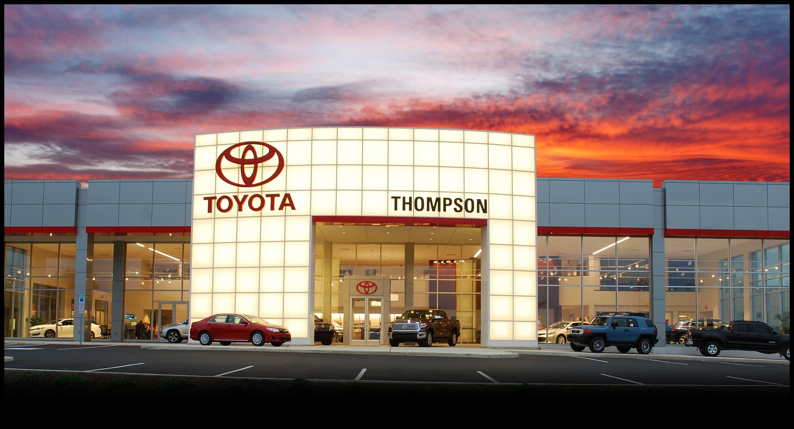 About Thompson Toyota of Doylestown PA