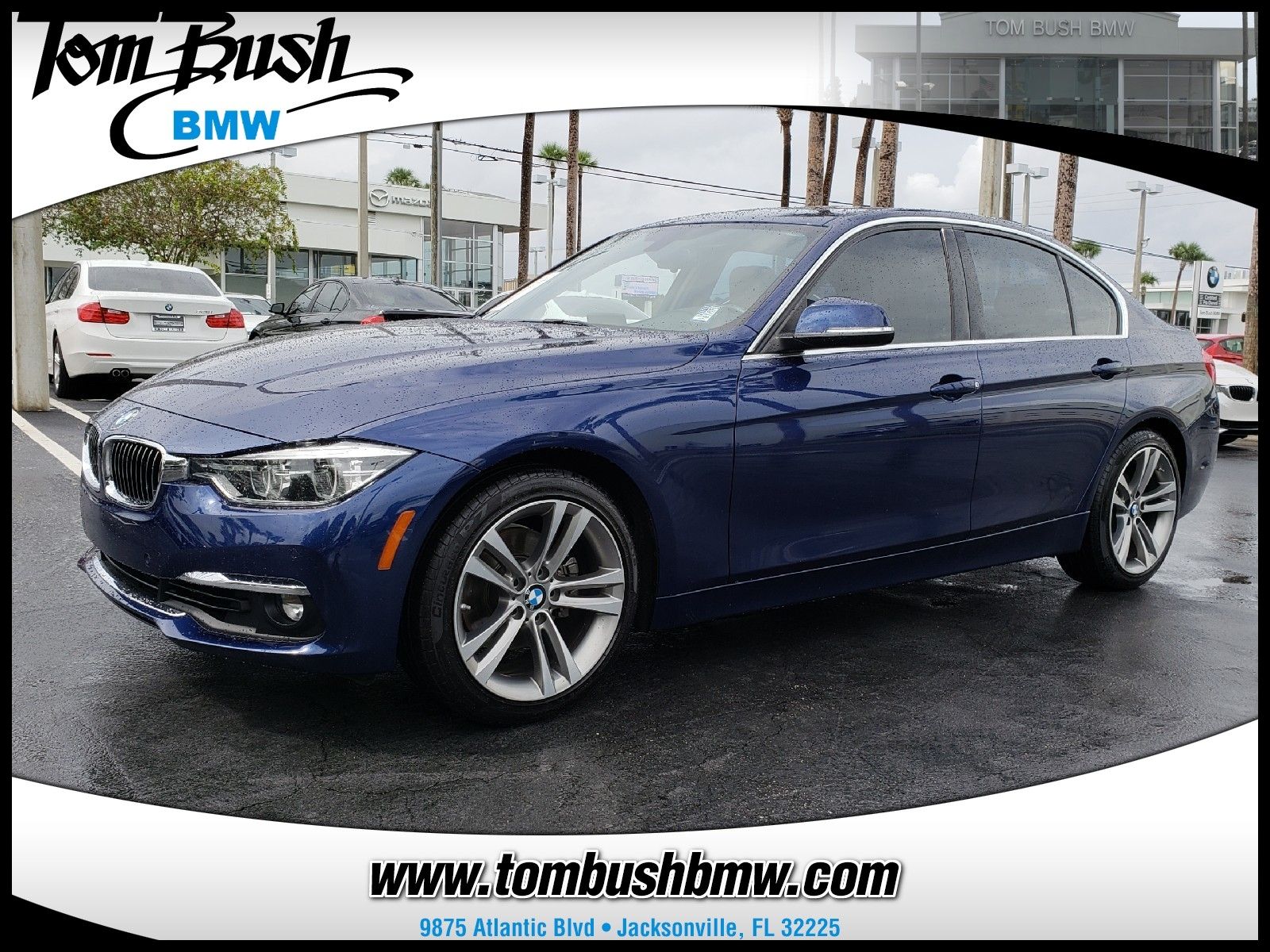 Used 2016 BMW 328i For Sale in Jacksonville FL WBA8E9C53GK